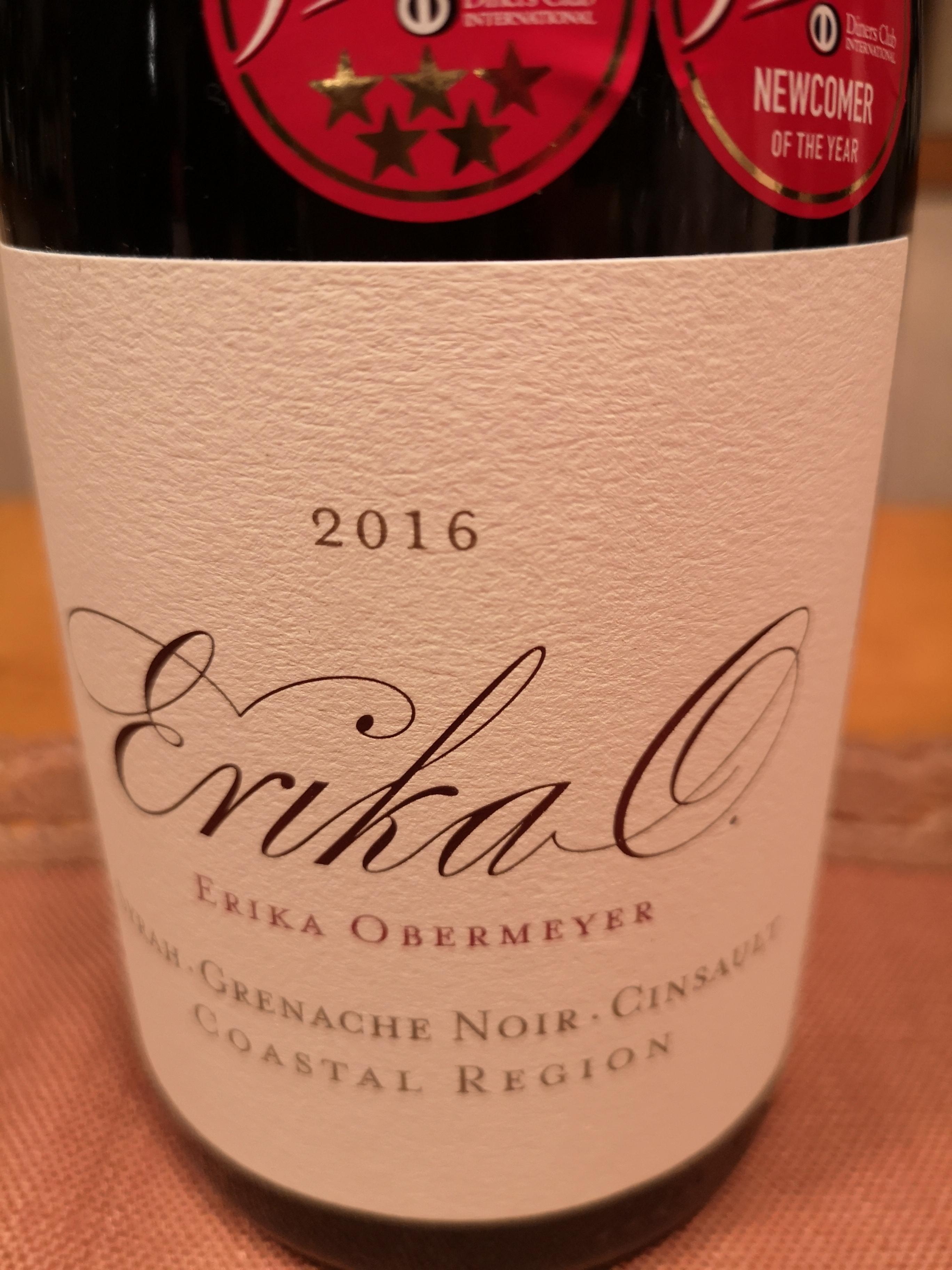 2016 Syrah-Grenache-Cinsault | Erika Obermeyer