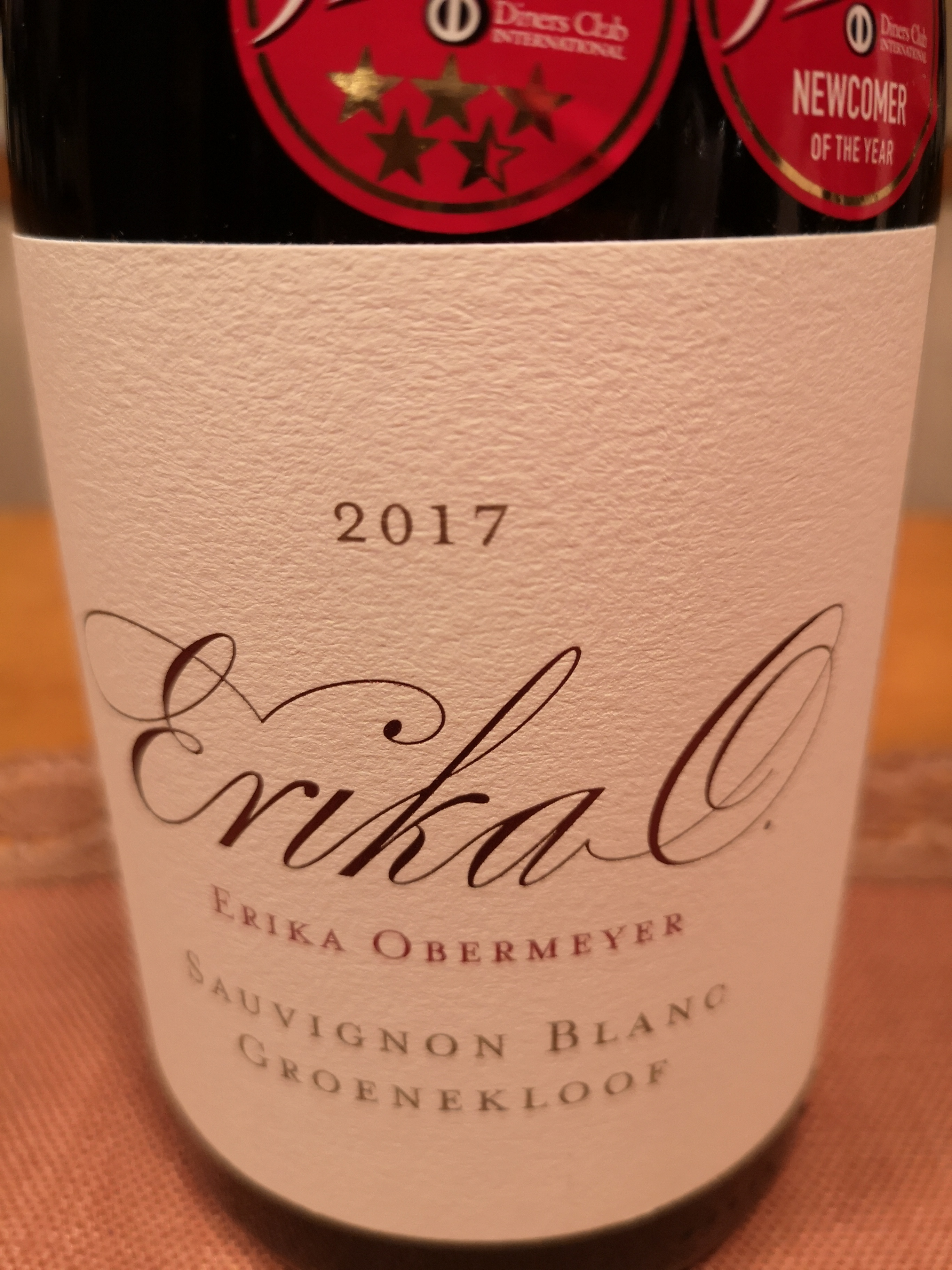 2017 Sauvignon Blanc | Erika Obermeyer