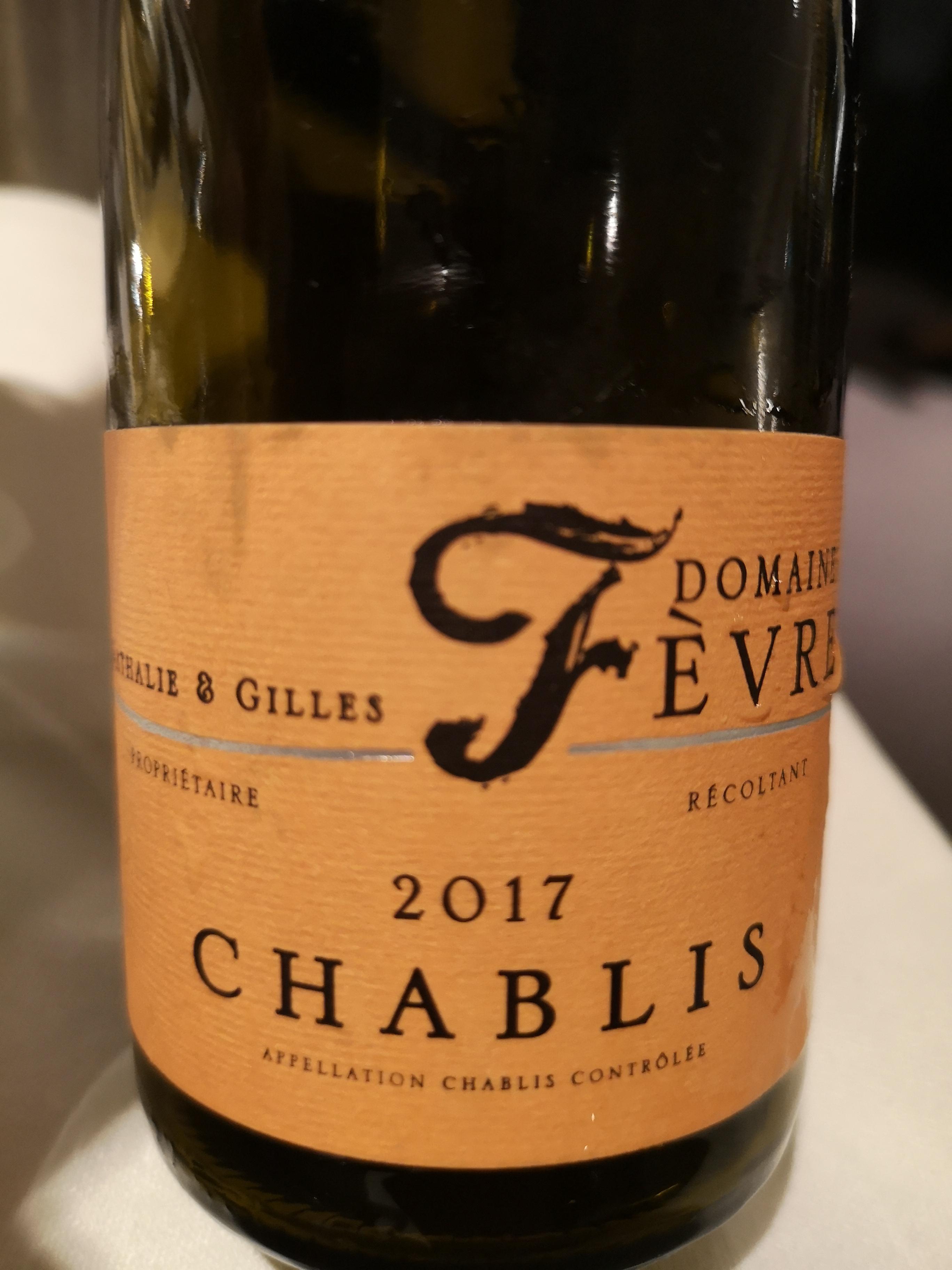 2017 Chablis | Domaine Nathalie & Gilles Fèvre
