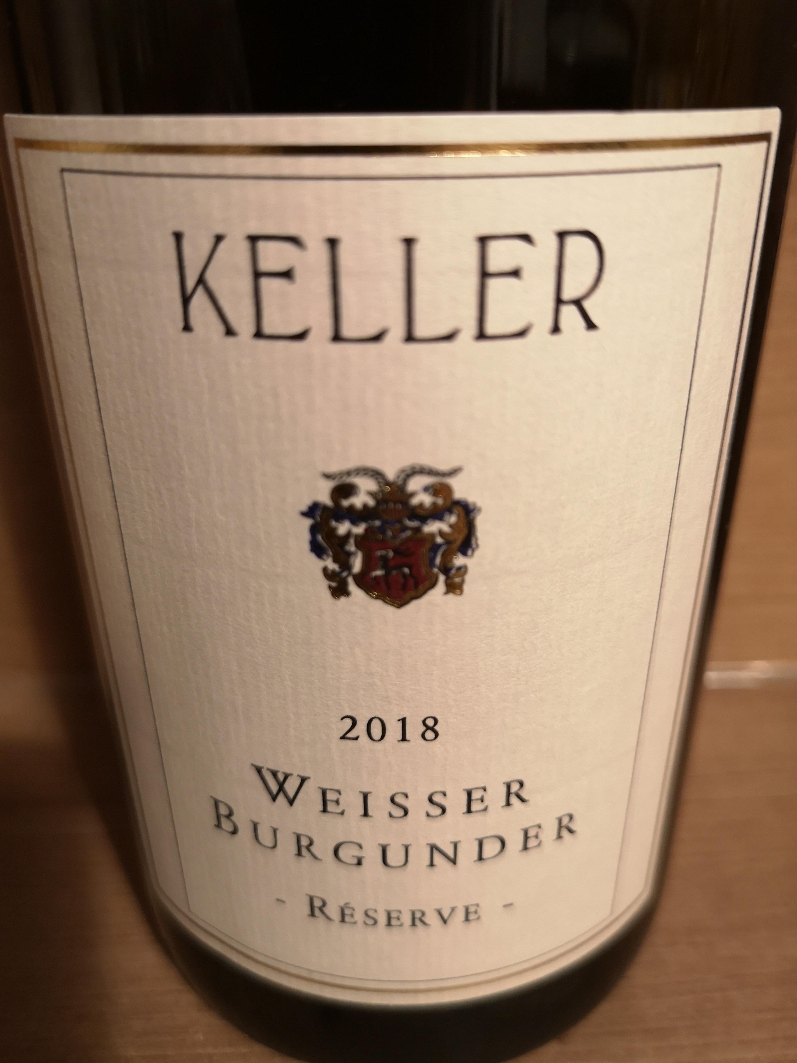 2018 Weißer Burgunder Reserve | Keller