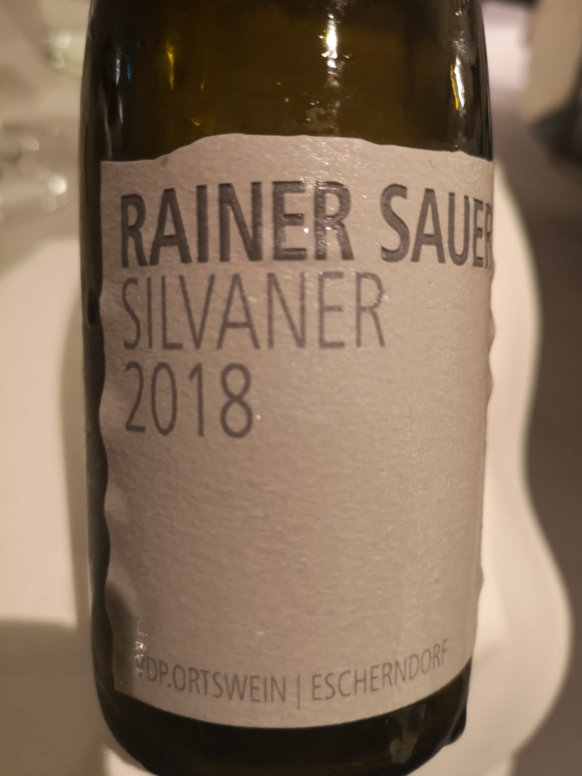 2018 Silvaner | Sauer
