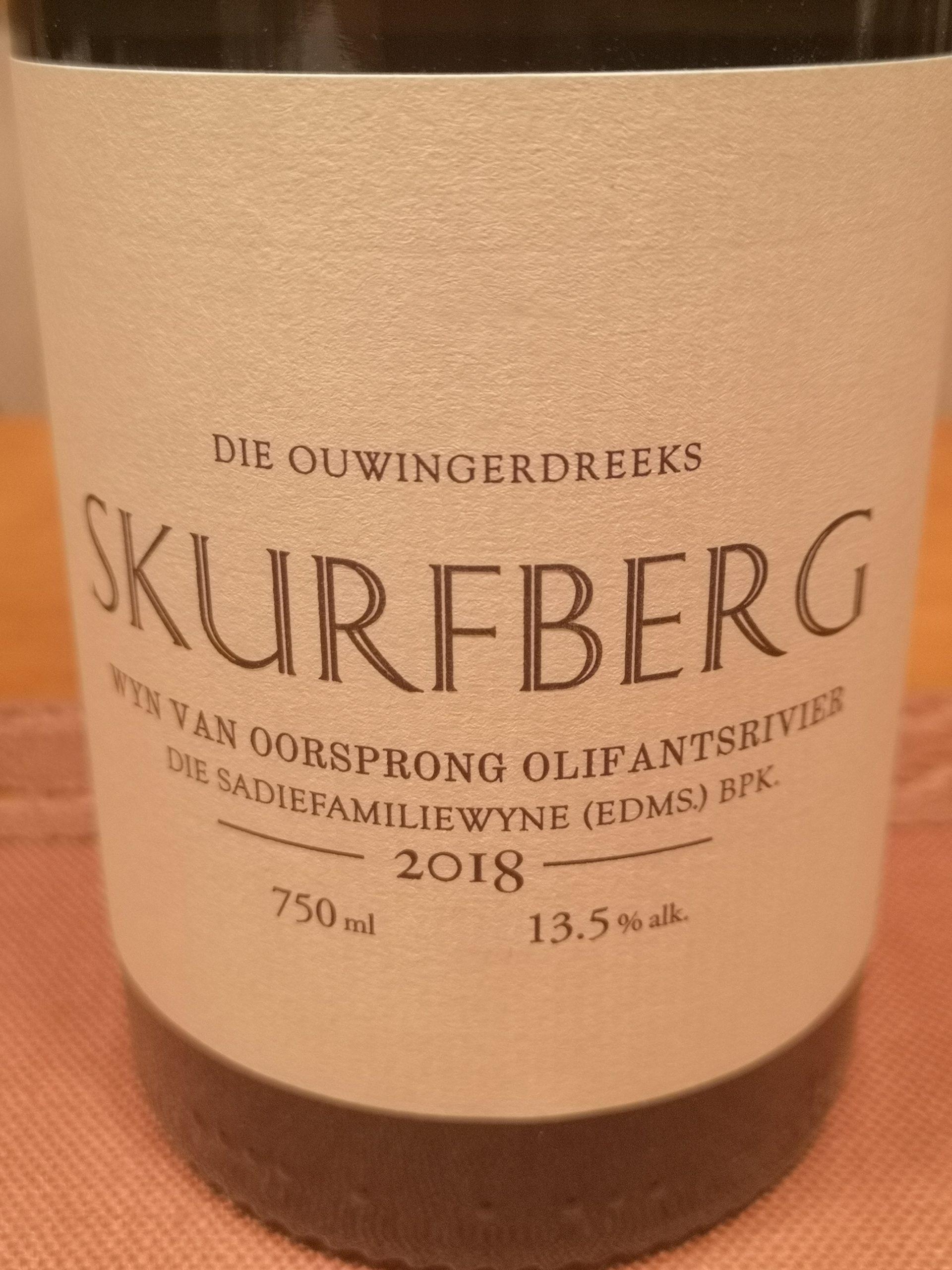 2018 Skurfberg | Sadie