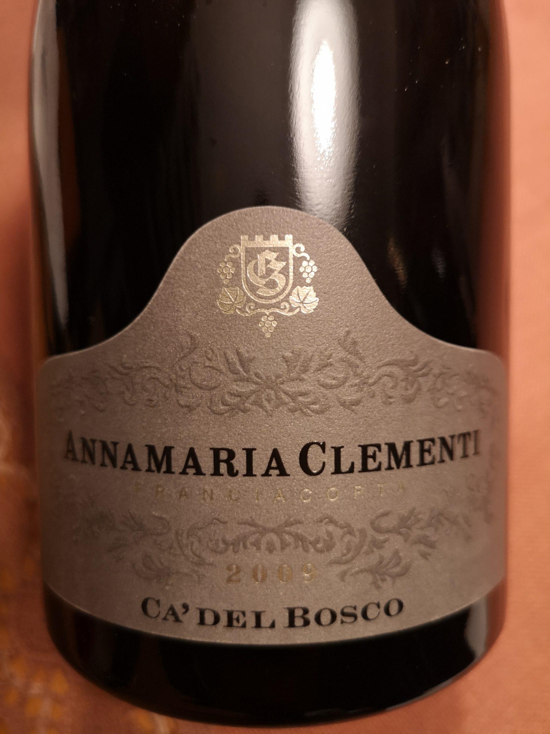 2009 Franciacorta Cuvée Annamaria Clementi Riserva   Ca' del Bosco