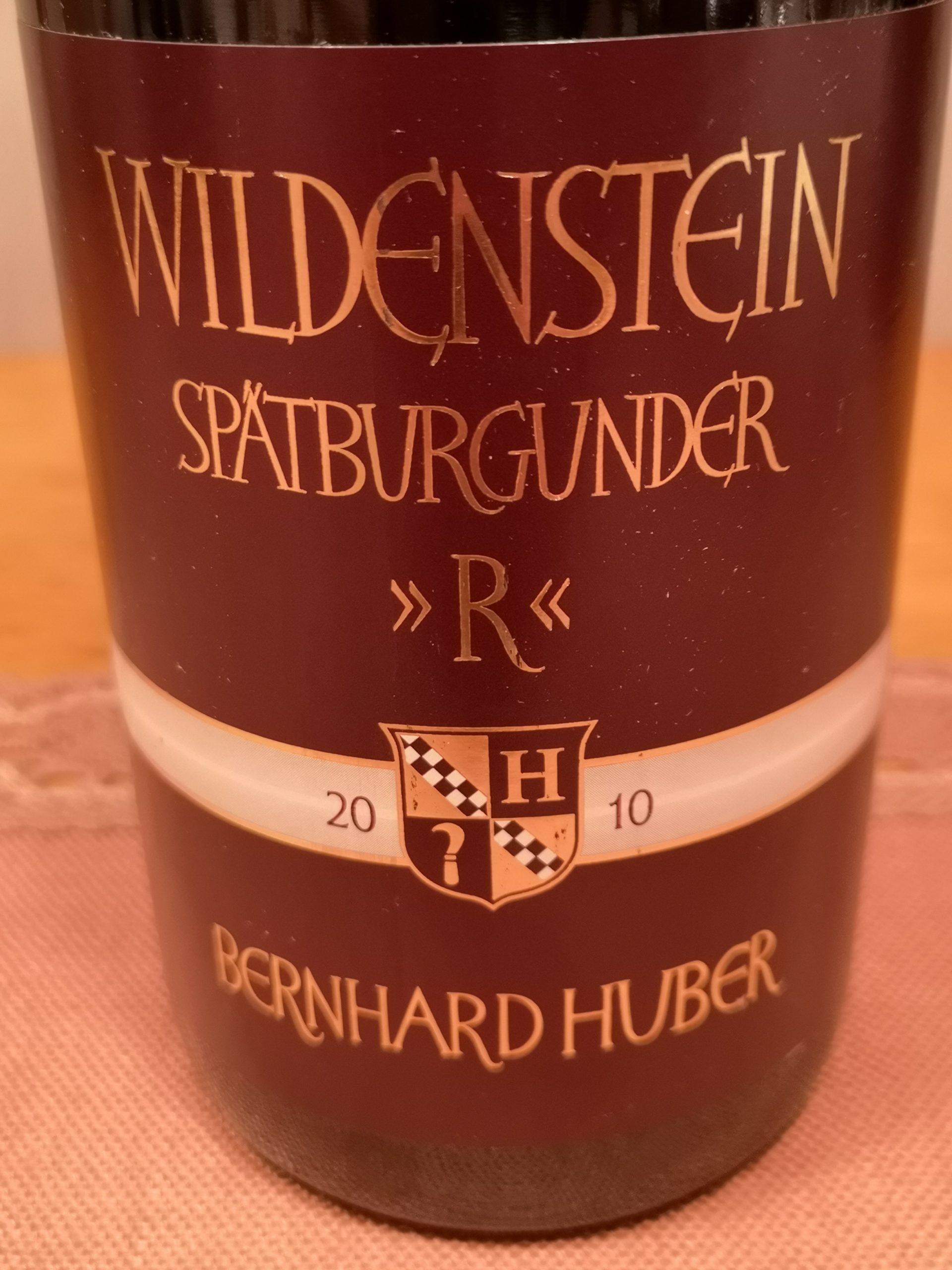 2010 Spätburgunder R Wildenstein | Huber