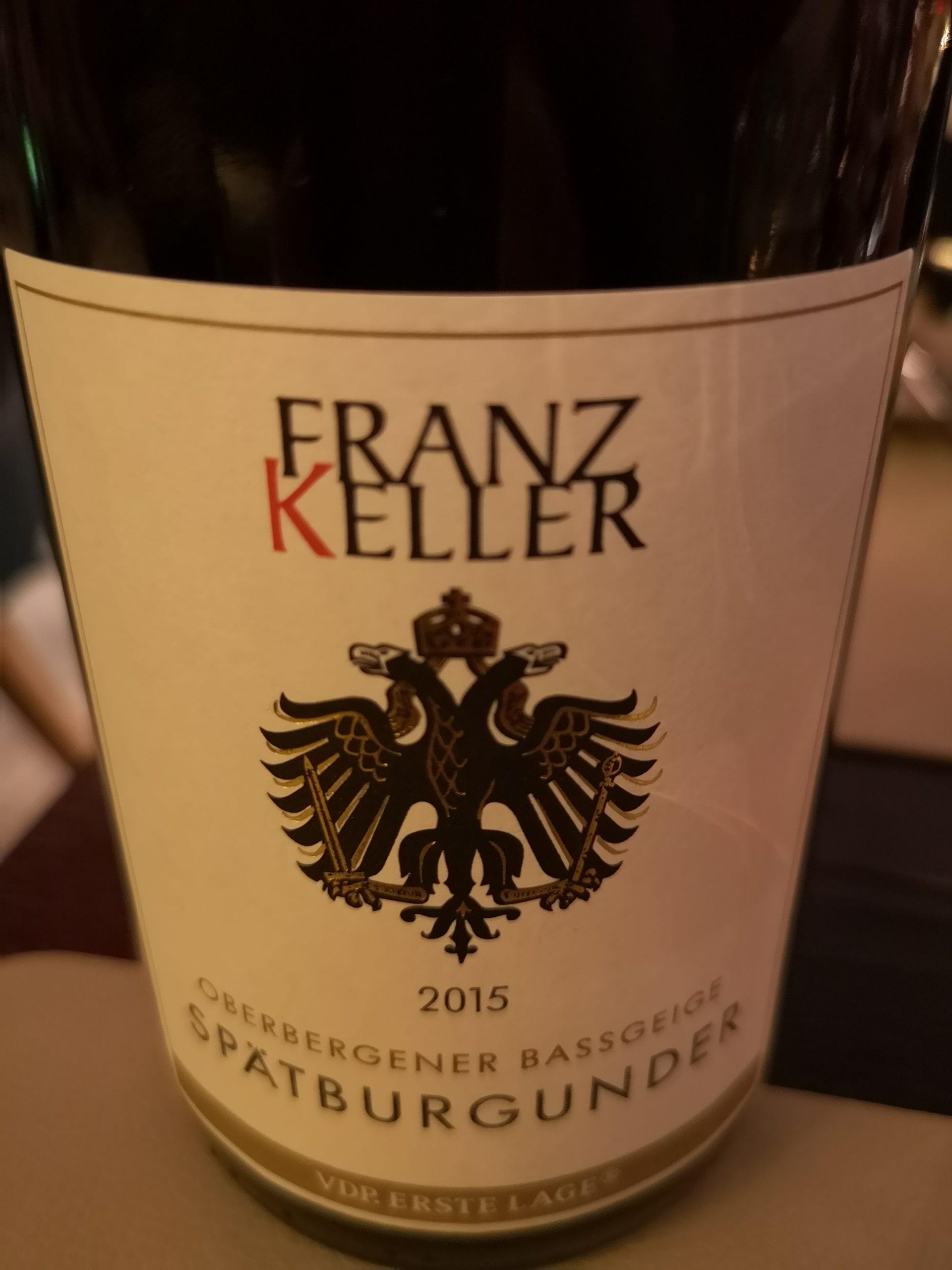 2015 Spätburgunder Oberbergener Bassgeige   Franz Keller