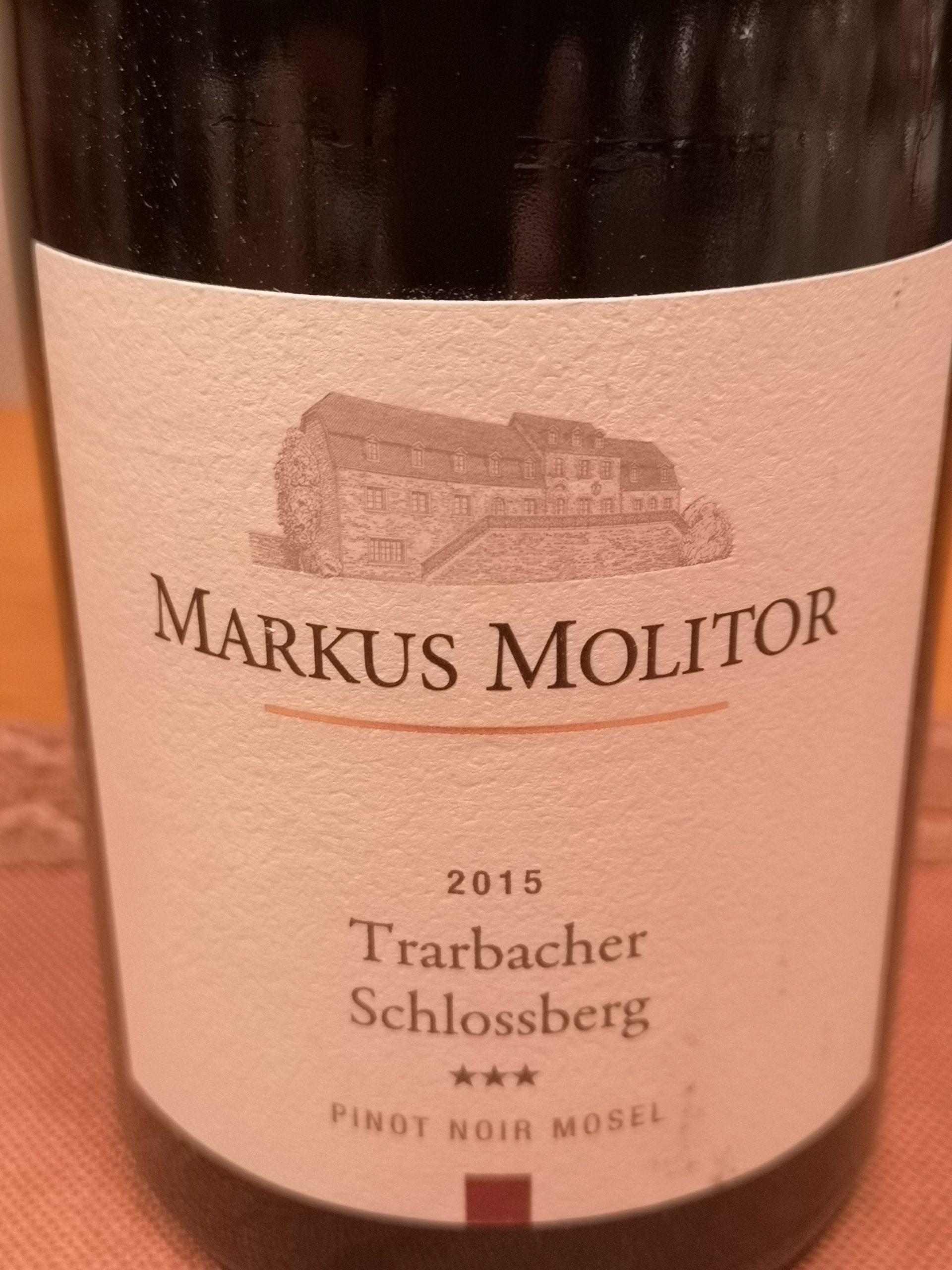 2015 Spätburgunder Trarbacher Schlossberg | Molitor
