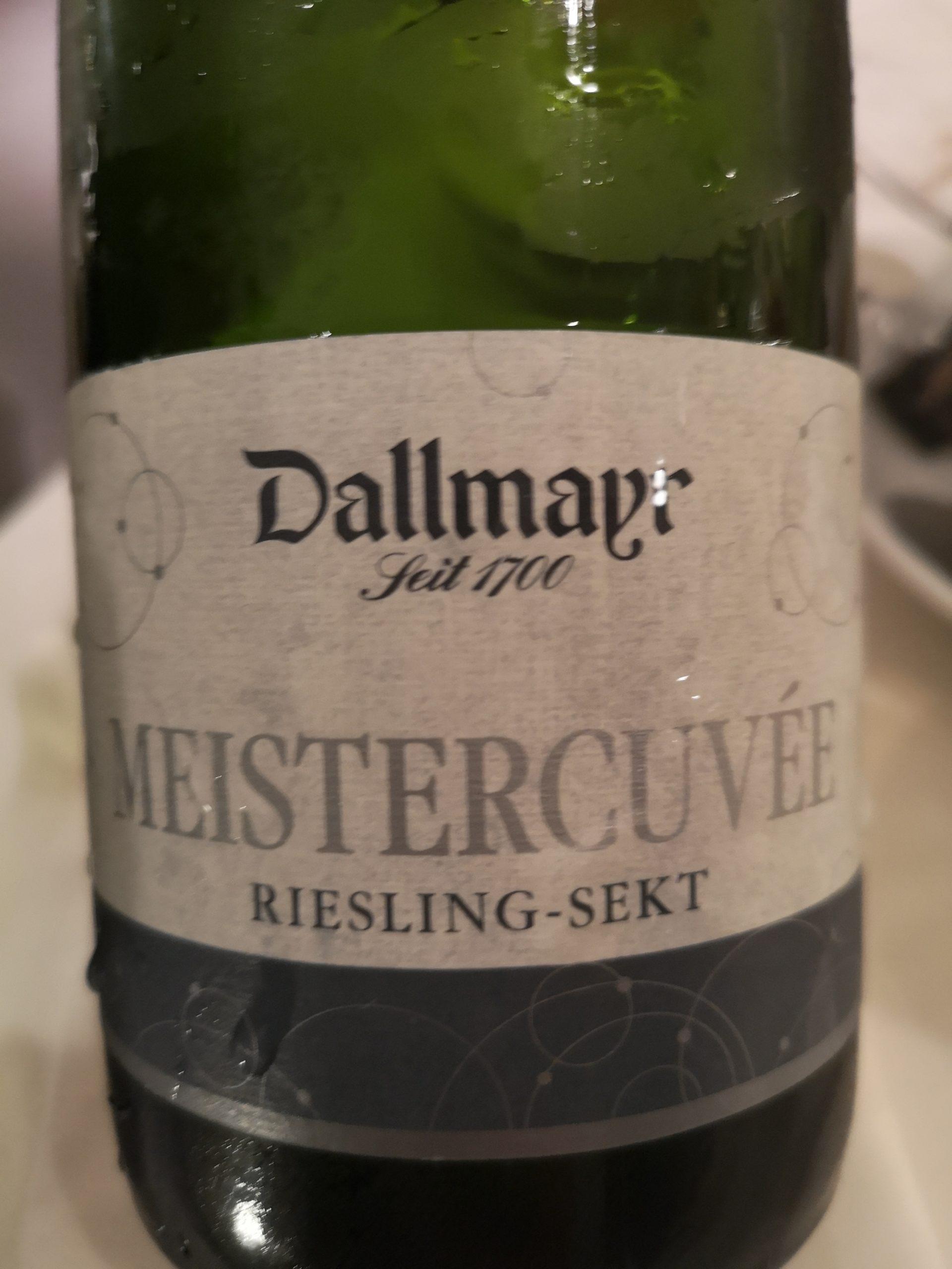 2017 Riesling Sekt Meistercuvée extra trocken   Dallmayr