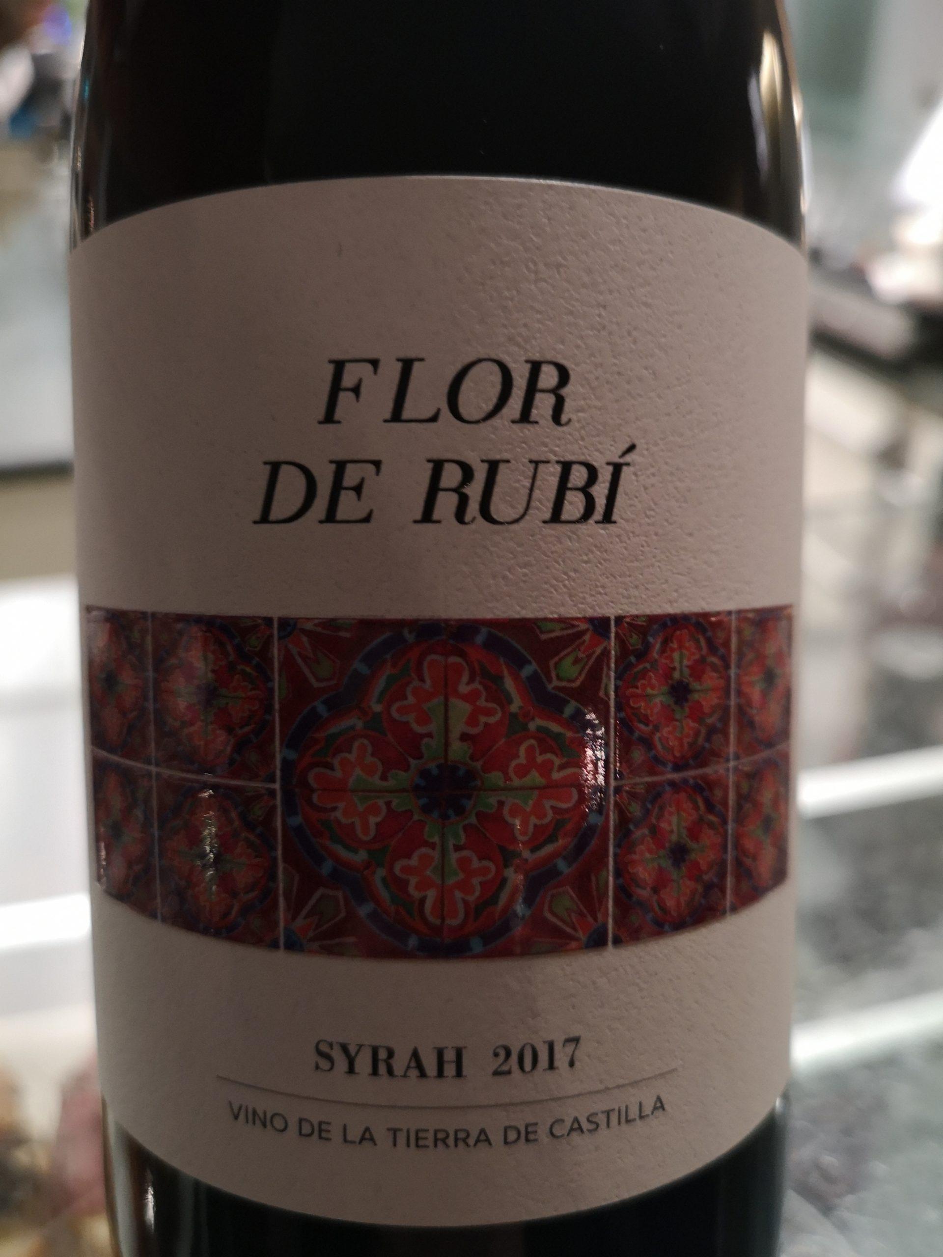 2017 Syrah Flor de Rubí | Viñedos los Molinos