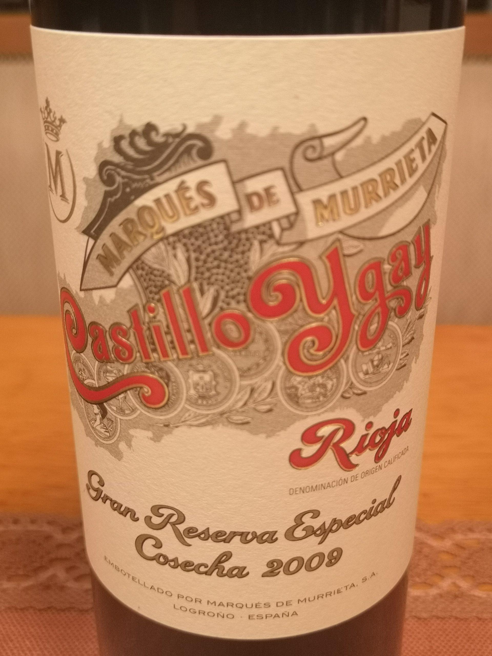 2009 Castillo Ygay Gran Reserva Especial | Marqués de Murrieta