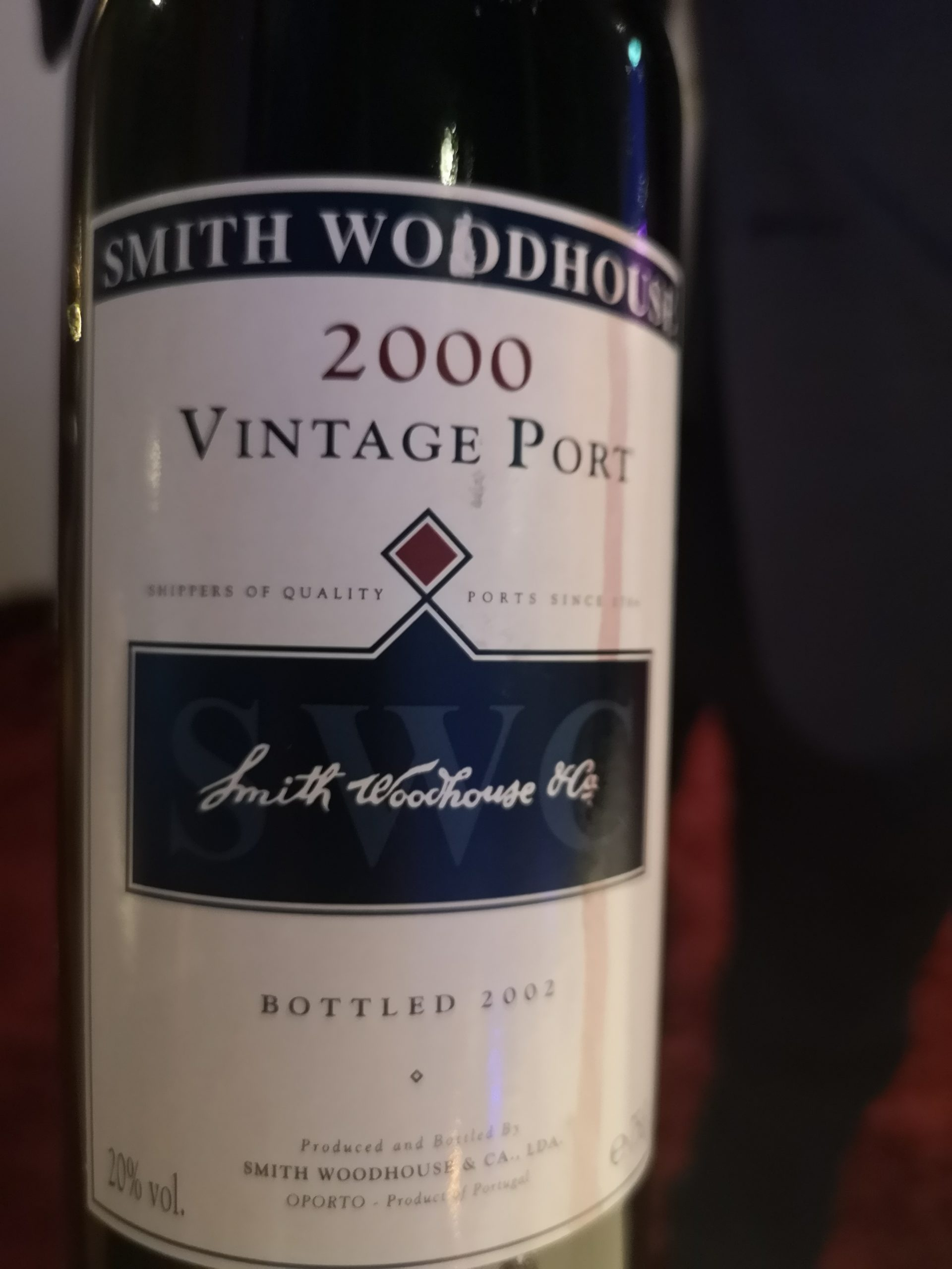 2000 Vintage Port | Smith Woodhouse