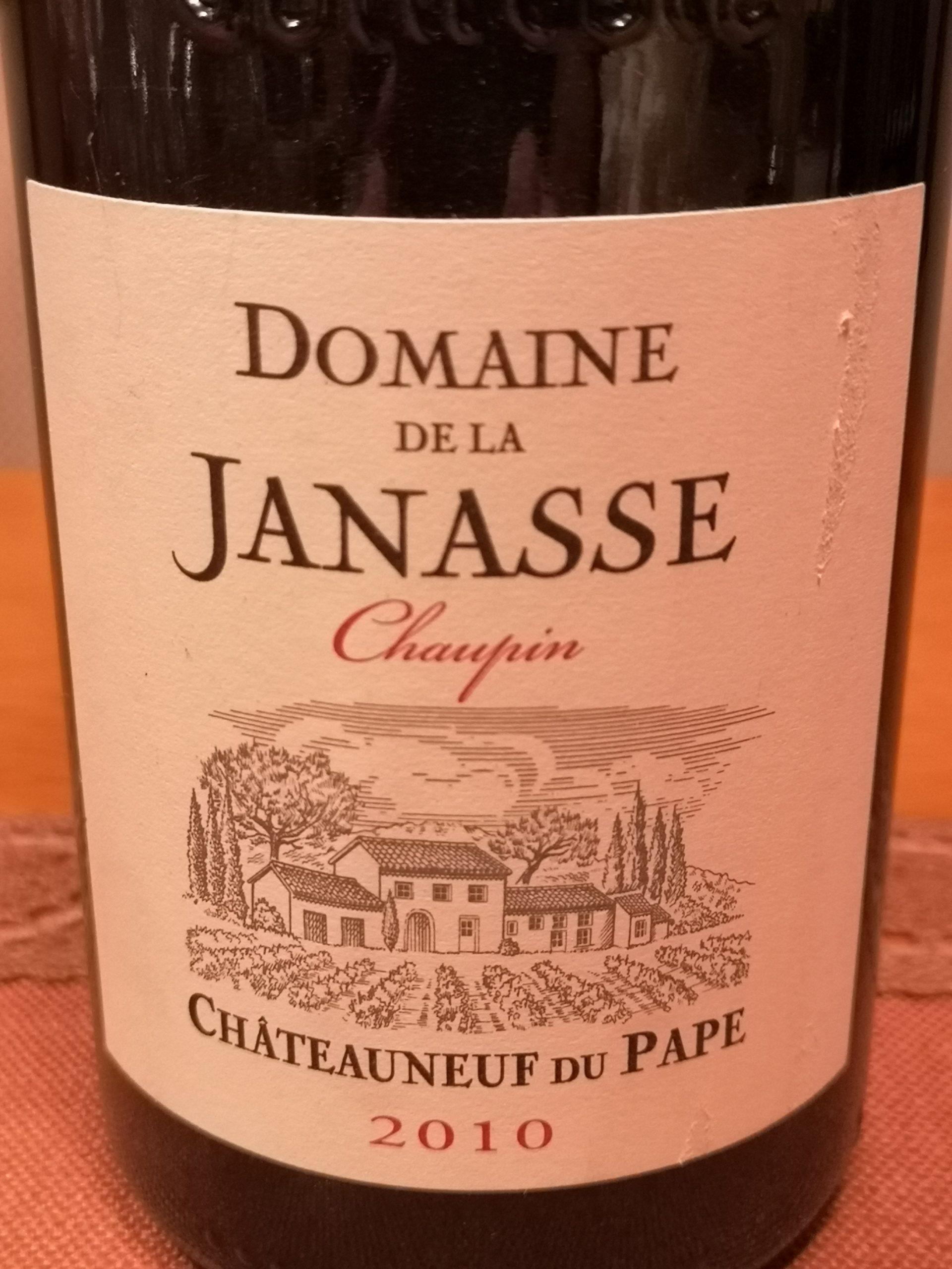2010 Châteauneuf-du-Pape Chaupin | Janasse