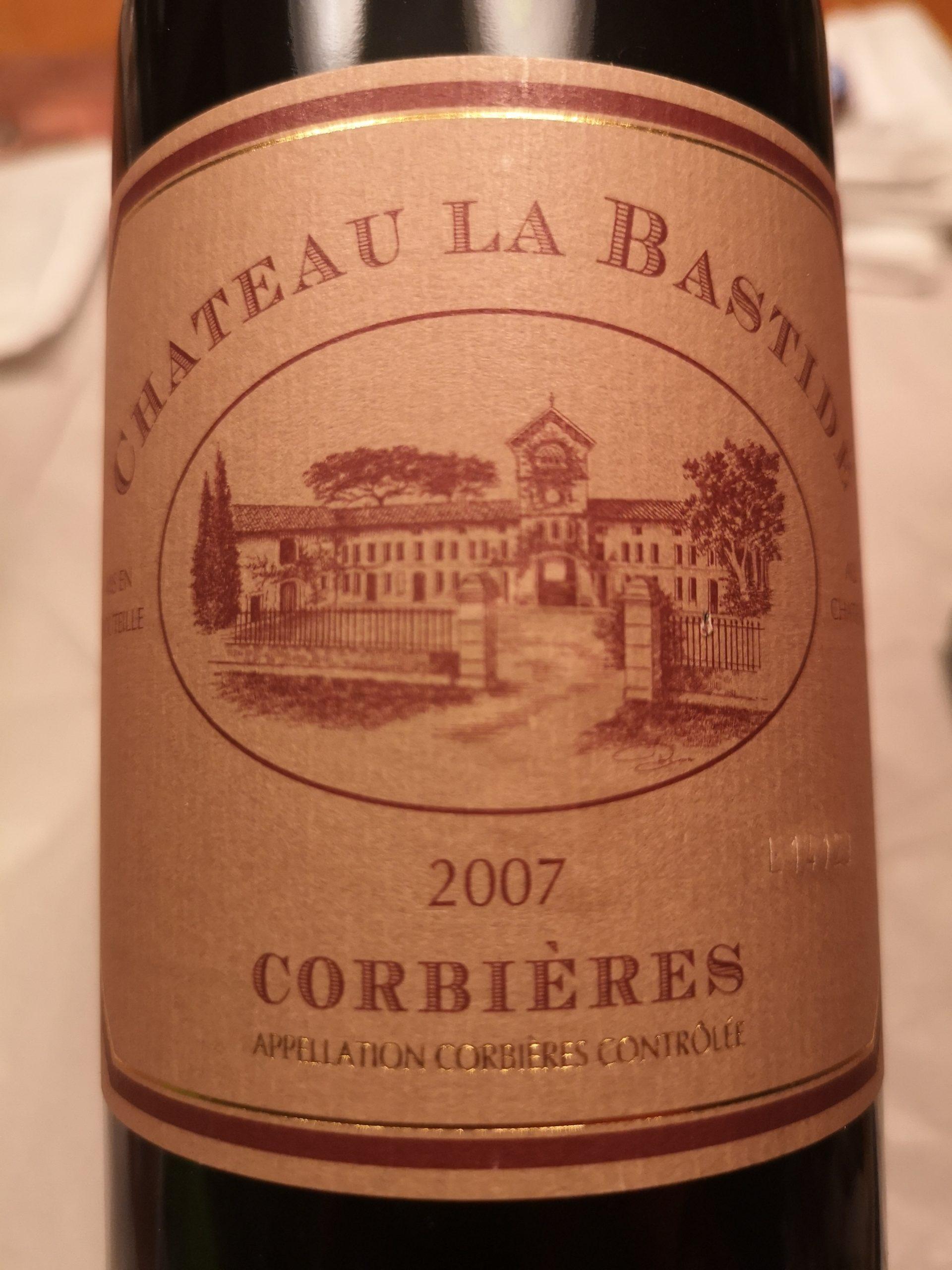 2007 Corbières | Château la Bastide