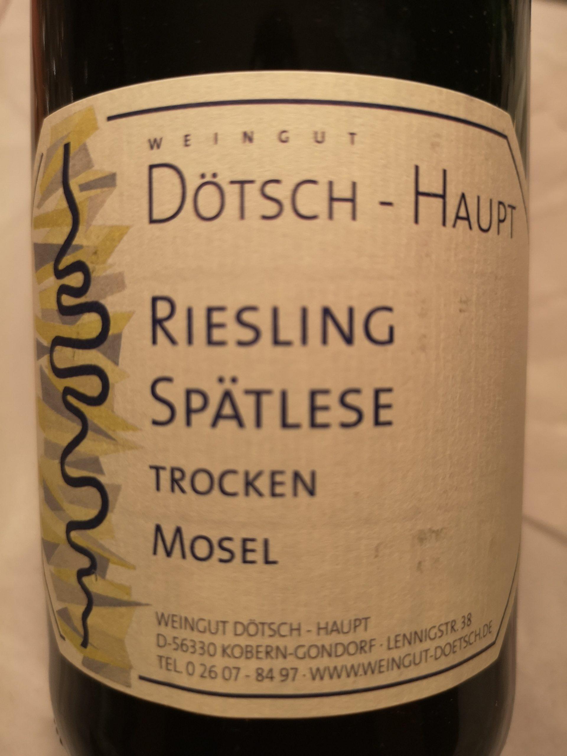 2007 Riesling Spätlese trocken Koberner Uhlen | Dötsch-Haupt