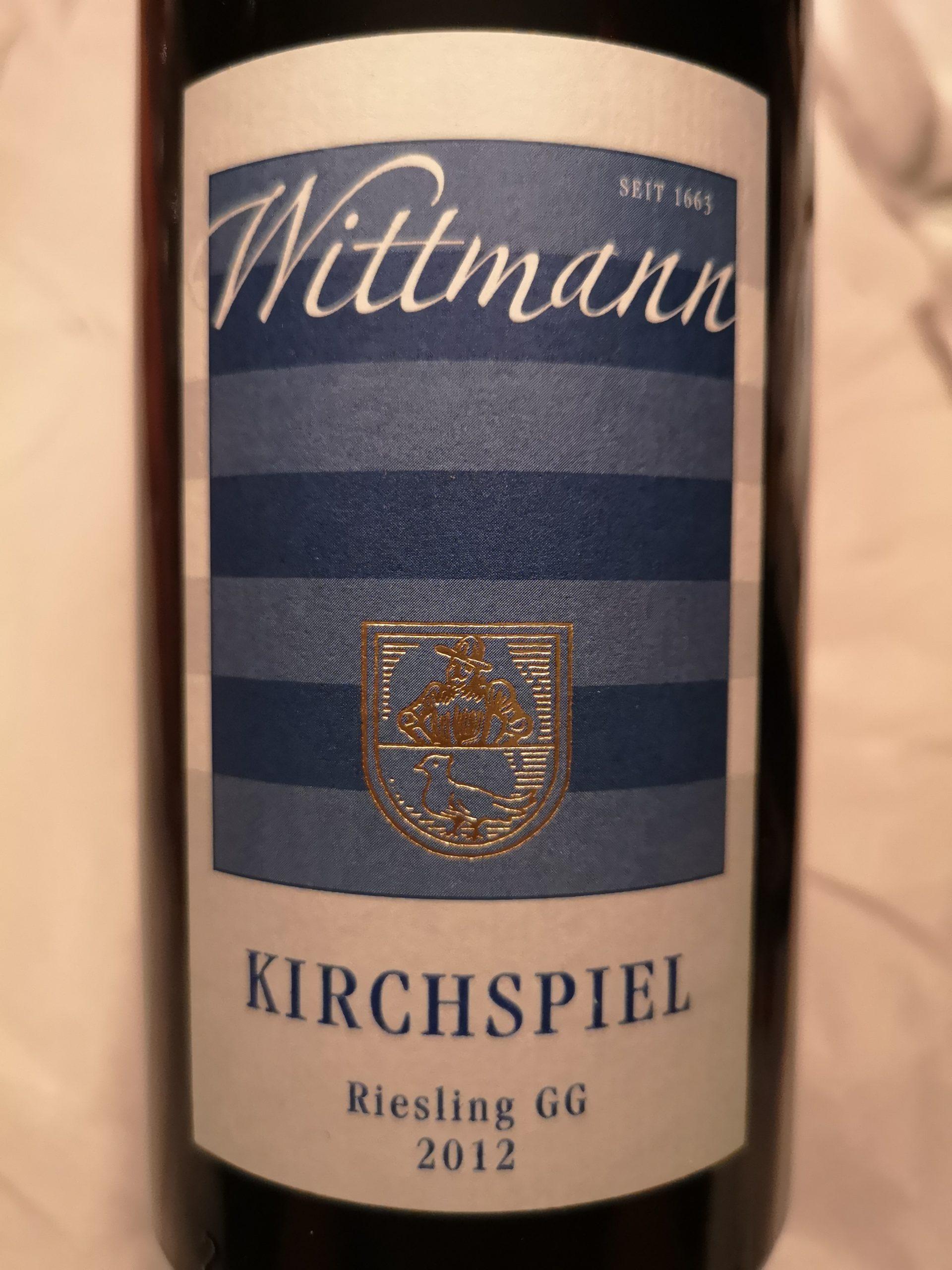 2012 Riesling Kirchspiel GG | Wittmann