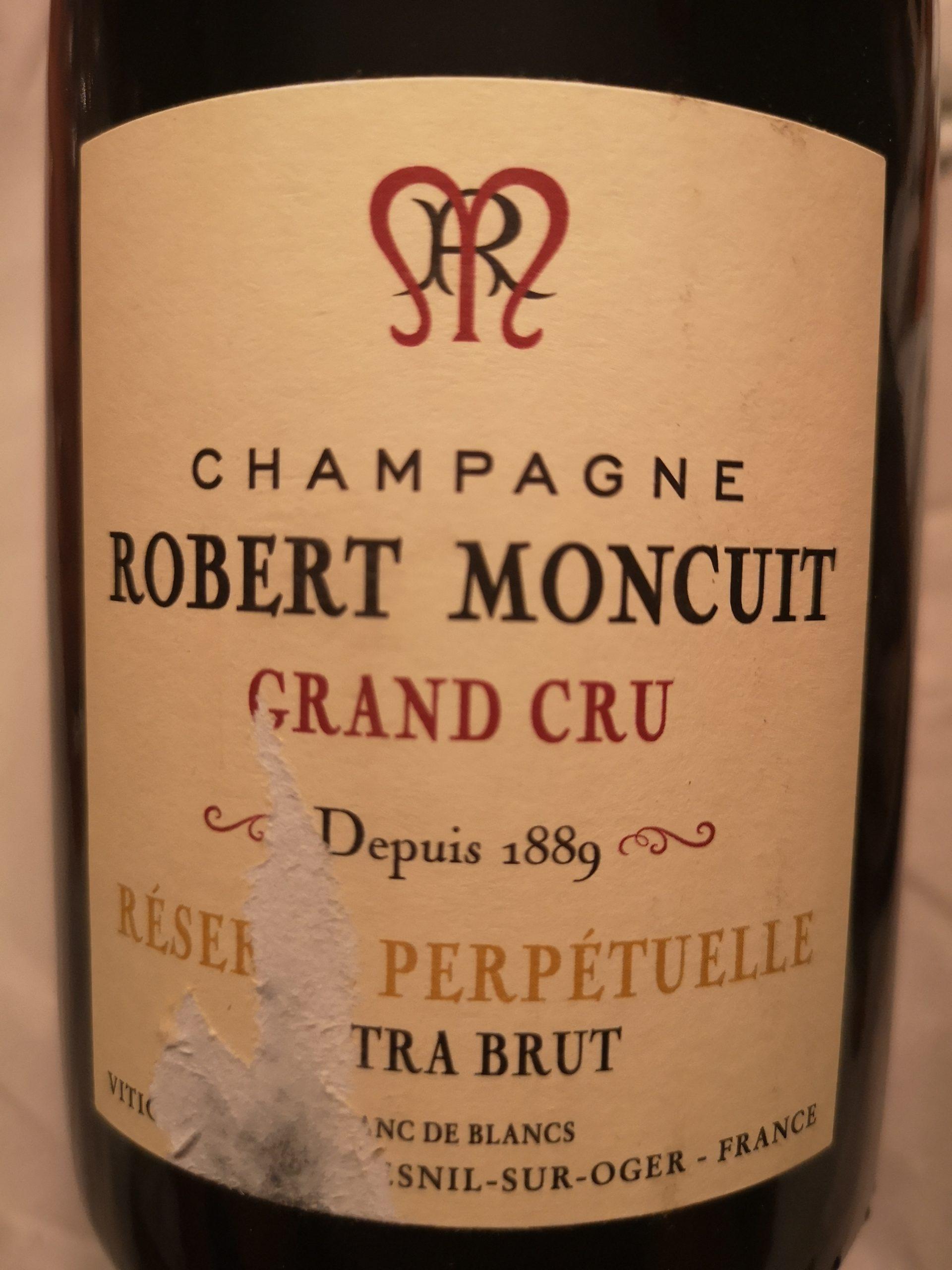 -nv- Champagne Extra Brut Grand Cru Blanc de Blancs Reserve Perpetuelle | Robert Moncuit