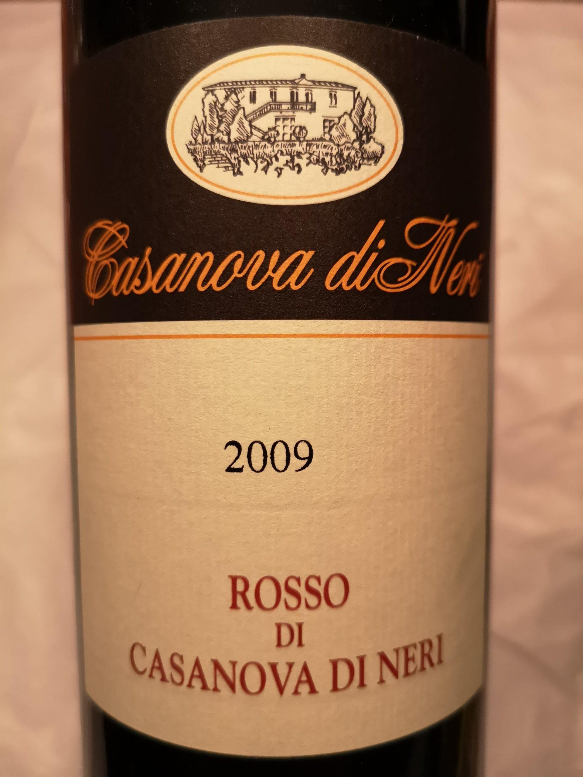 2009 Rosso | Casanova di Neri