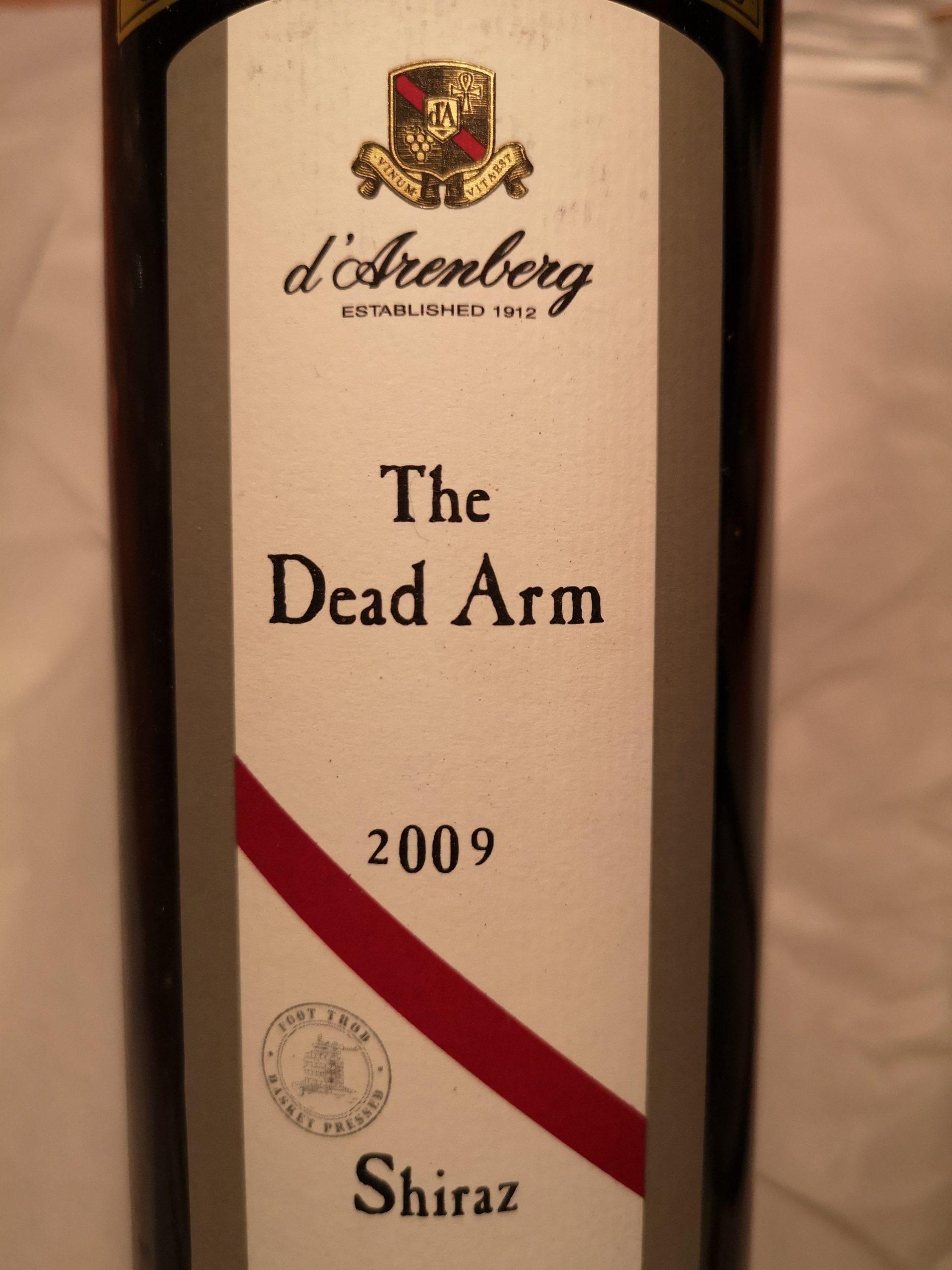 2009 Shiraz The Dead Arm | d'Arenberg