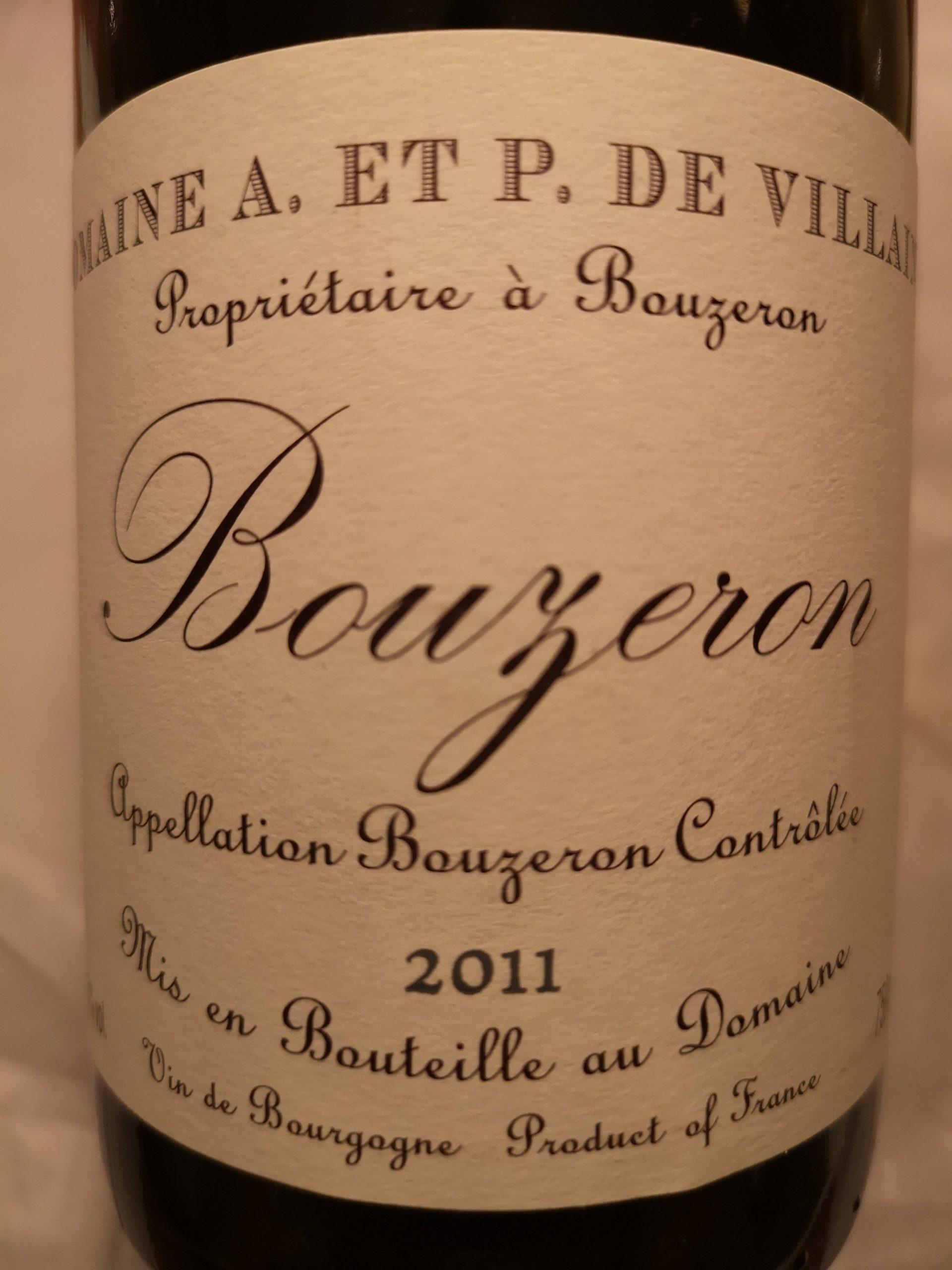 2011 Aligoté Bouzeron | de Villaine