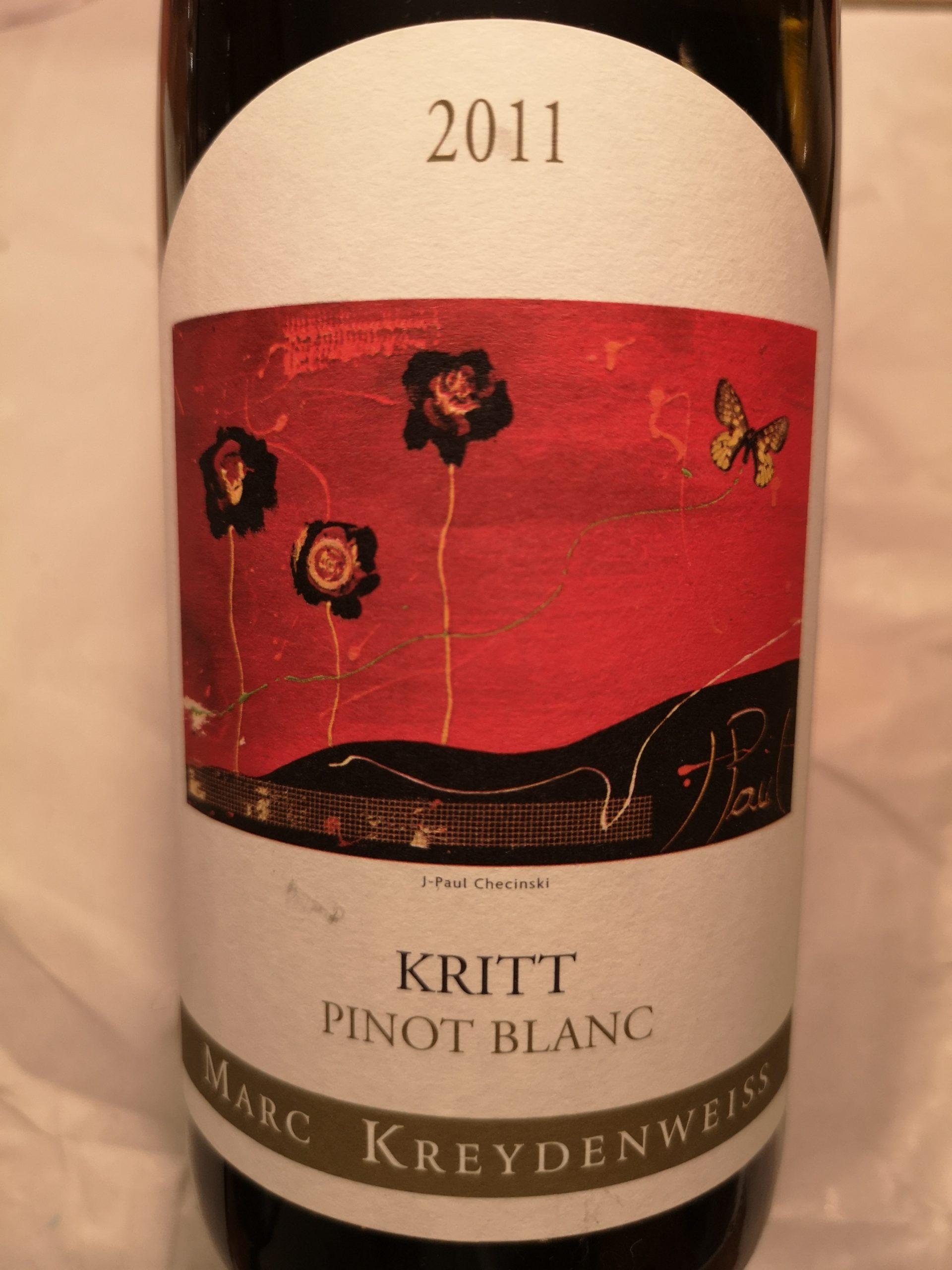 2011 Pinot Blanc Kritt | Kreydenweiss