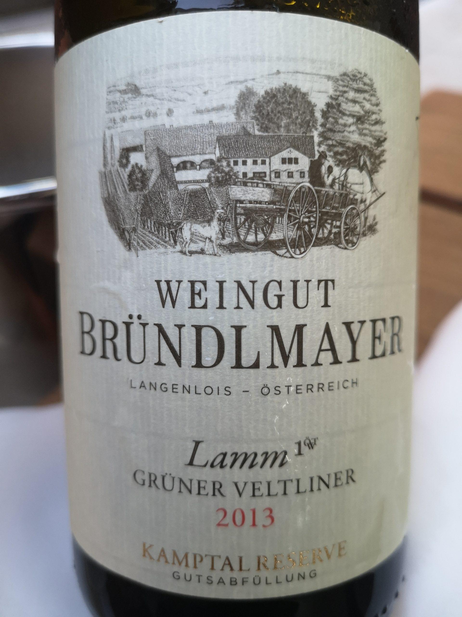 2013 Grüner Veltliner Lamm Reserve | Bründlmayer