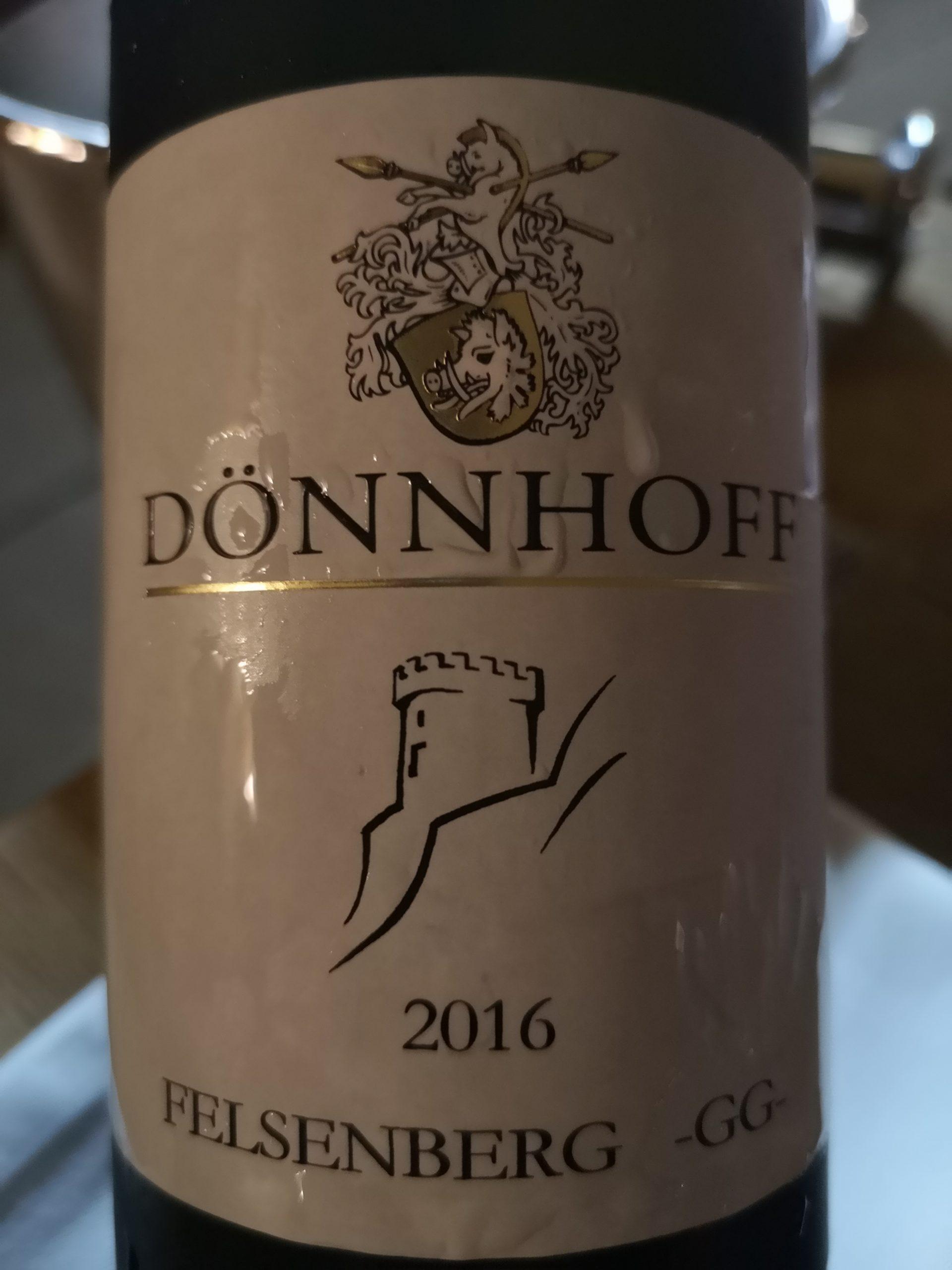 2016 Riesling Felsenberg GG | Dönnhoff