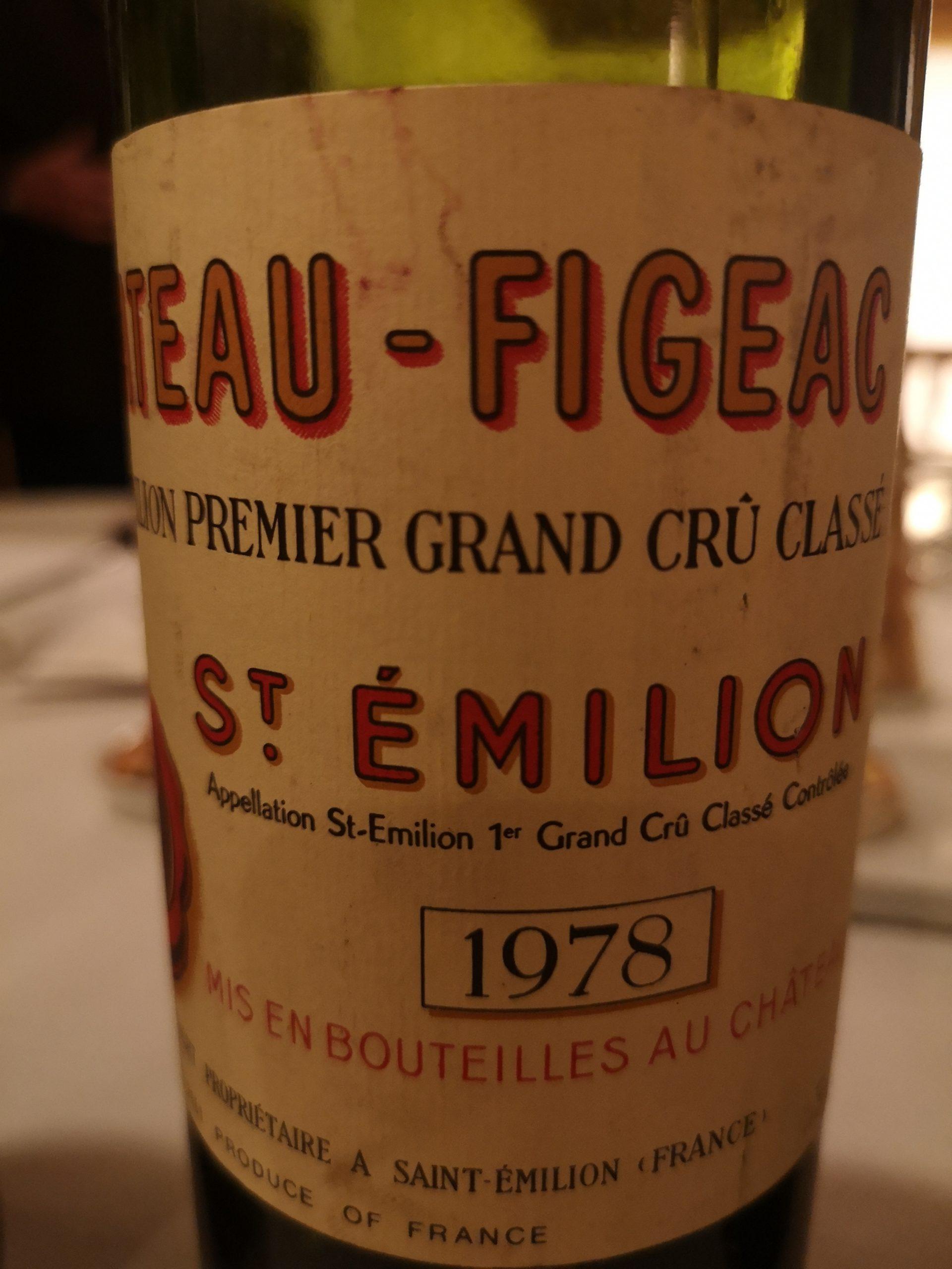 1978 Figeac | Château Figeac