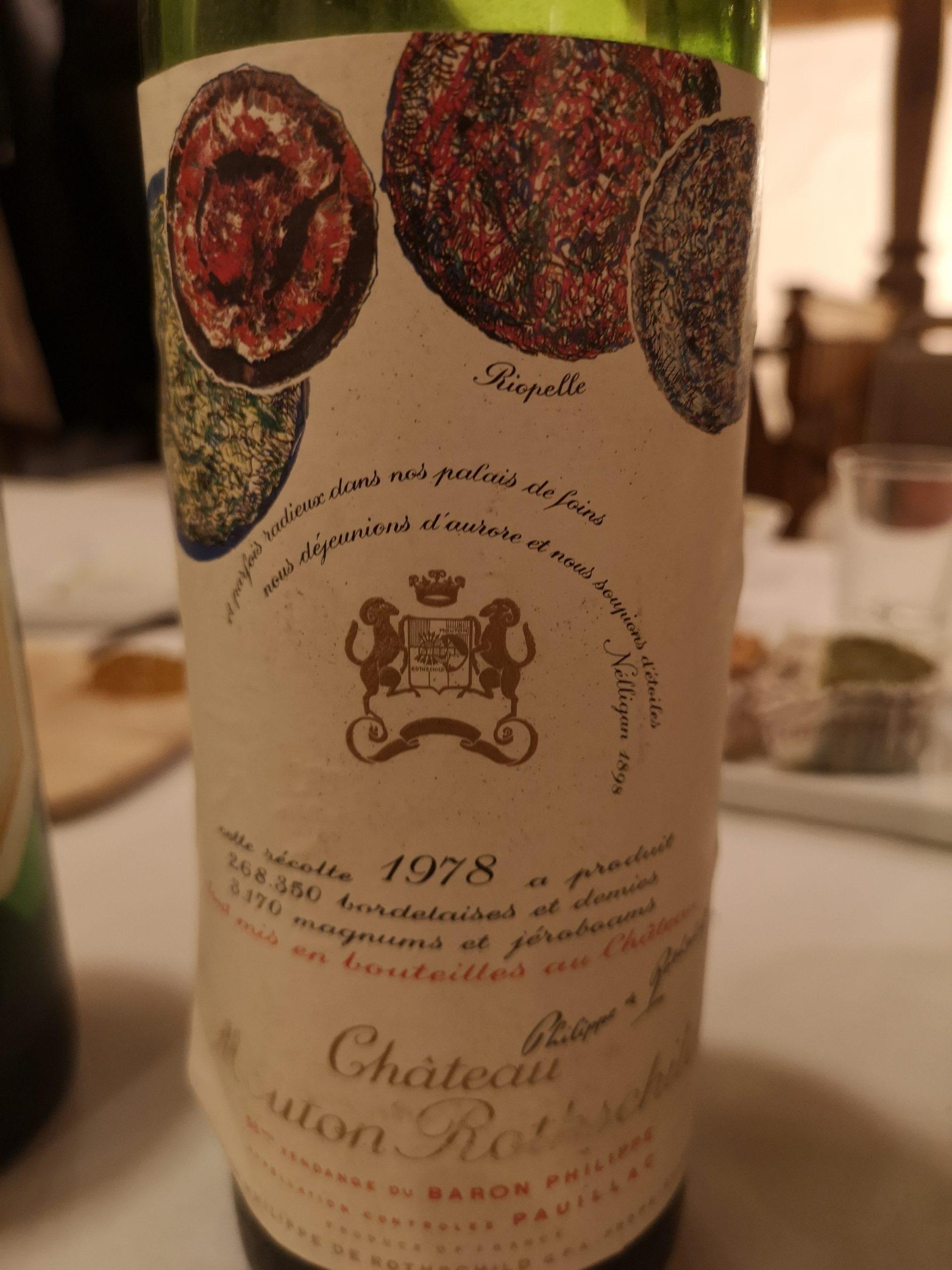 1978 Mouton-Rothschild | Château Mouton-Rothschild