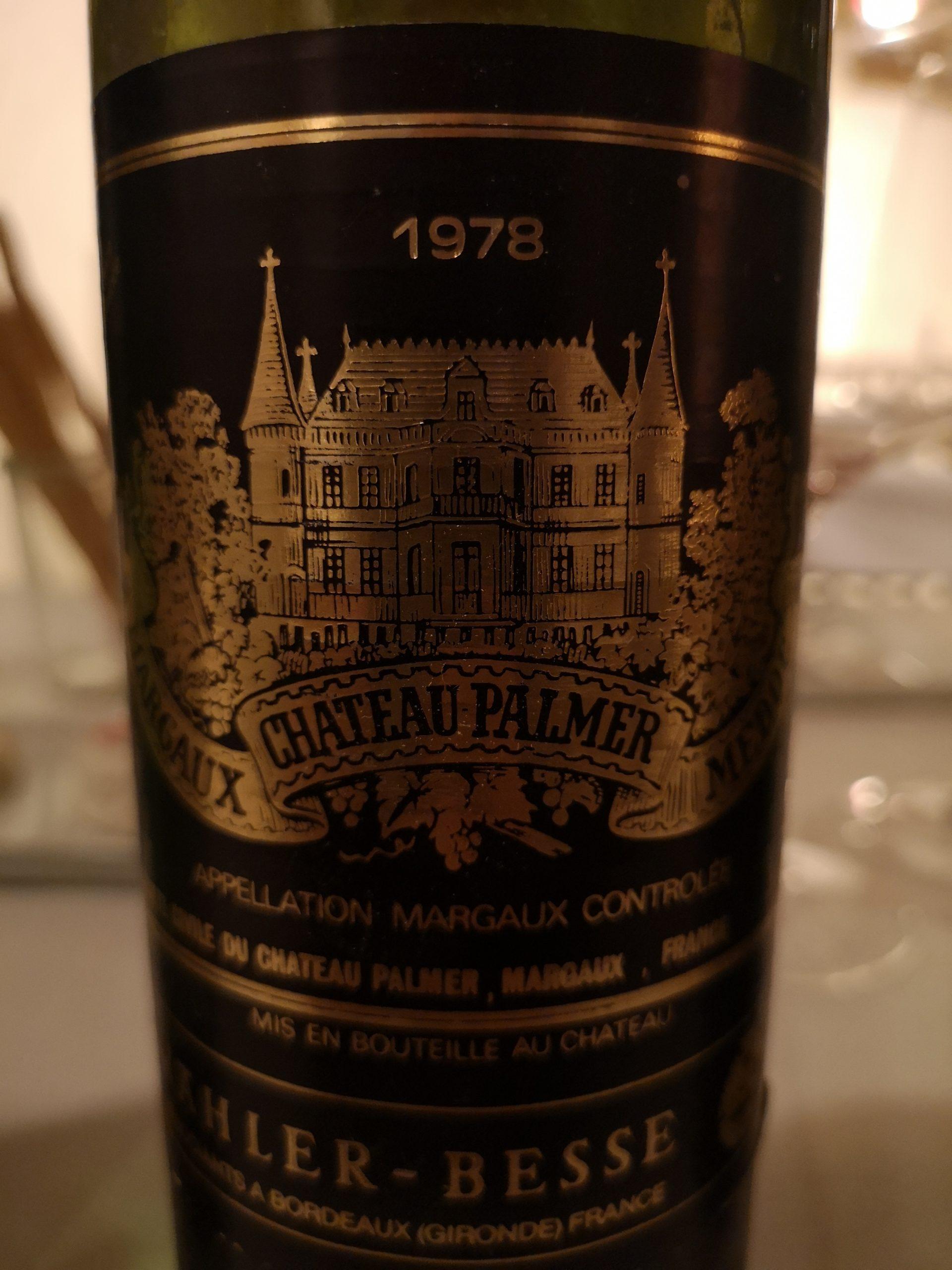 1978 Palmer | Château Palmer