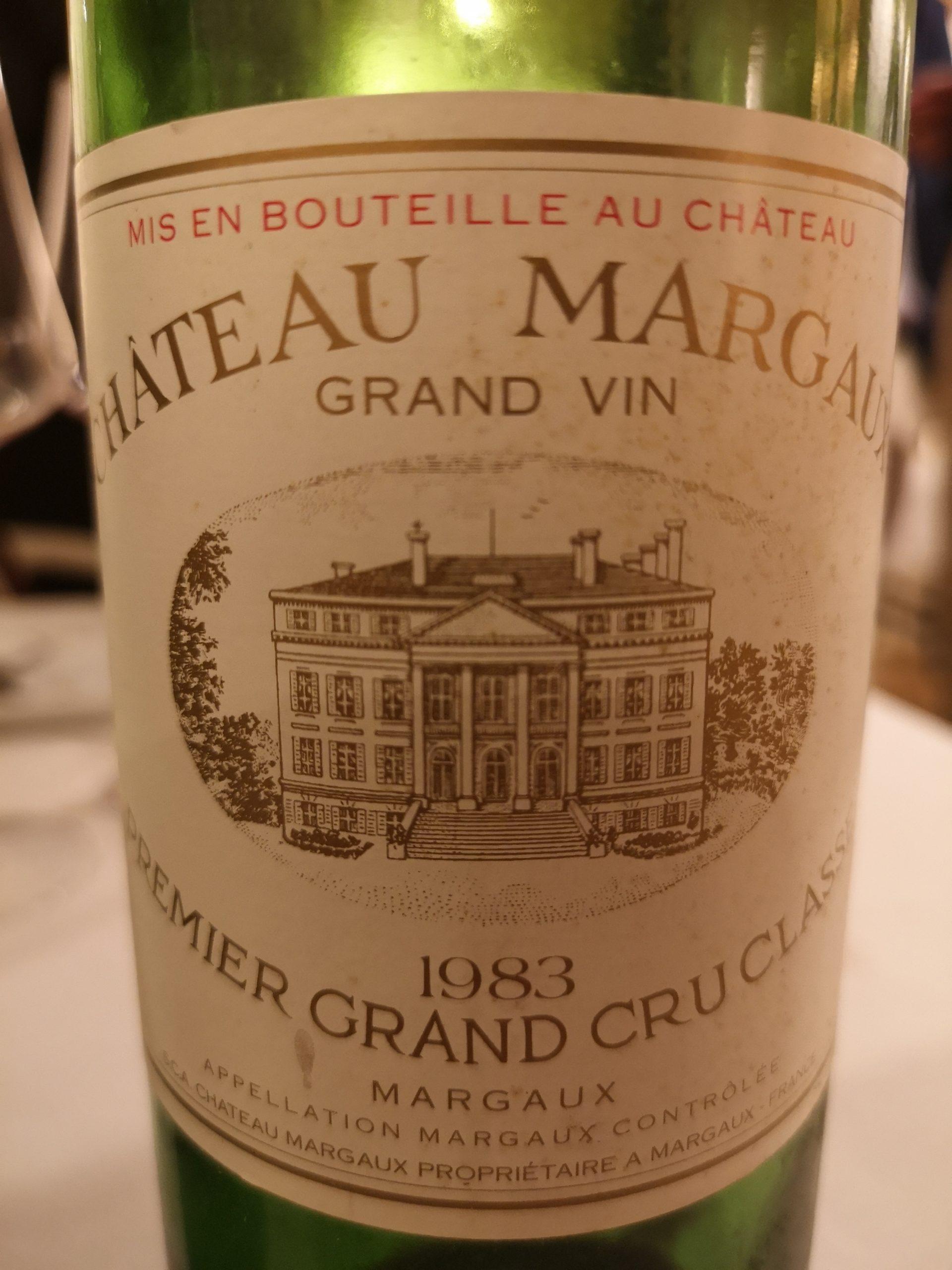 1983 Margaux | Château Margaux