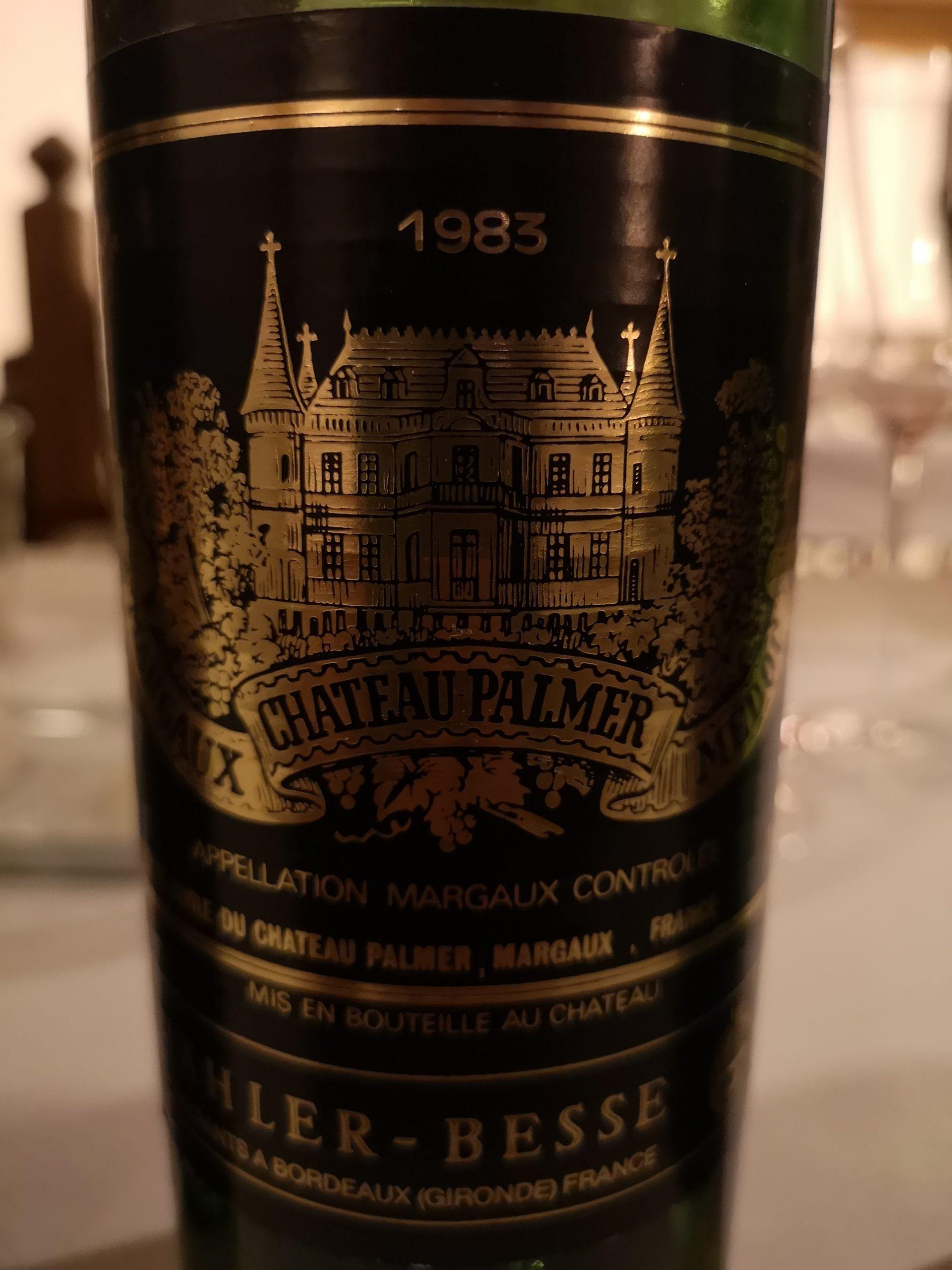 1983 Palmer | Château Palmer