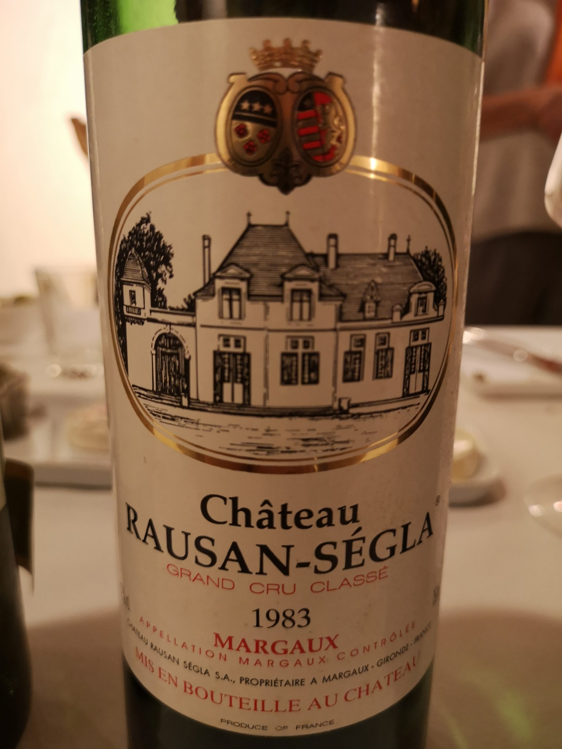 1983 Rauzan-Ségla | Château Rauzan-Ségla