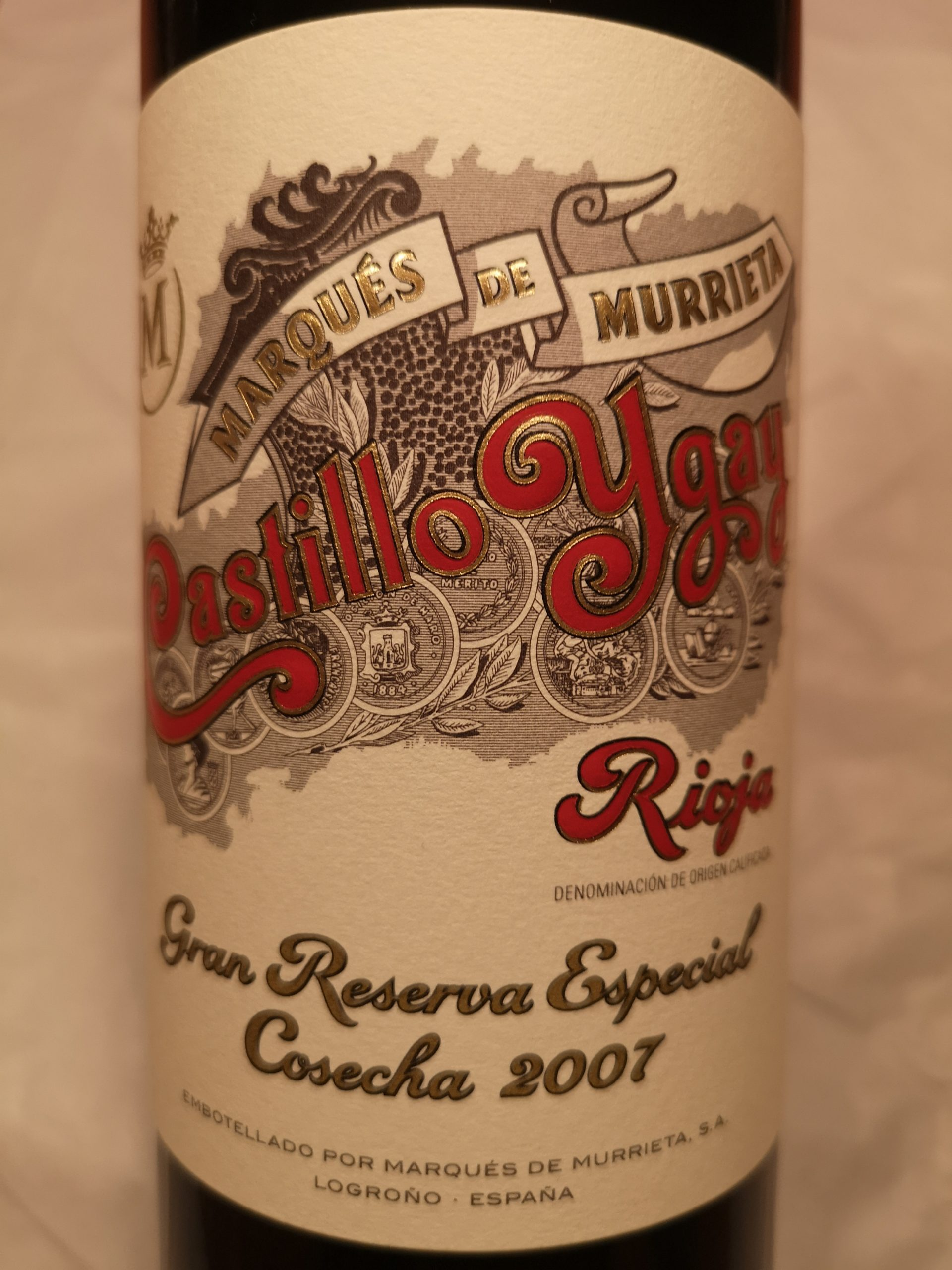 2007 Castillo Ygay Gran Reserva Especial | Marqués de Murrieta