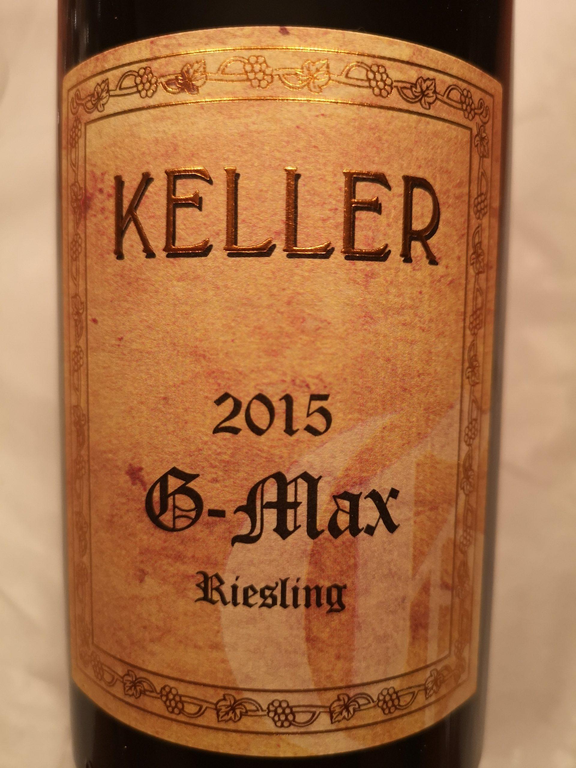 2015 Riesling G-Max | Keller
