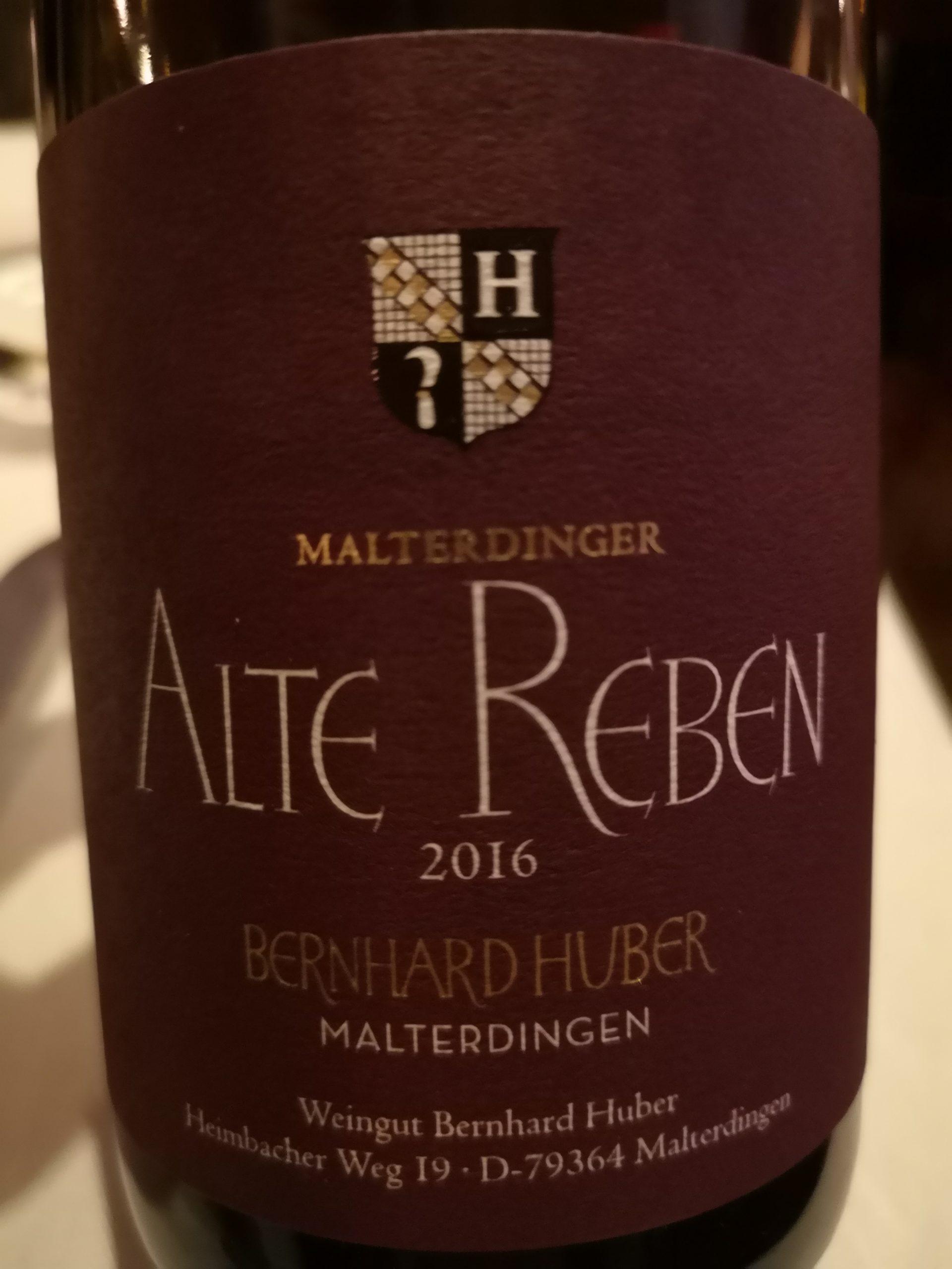 2016 Spätburgunder Alte Reben | Bernhard Huber