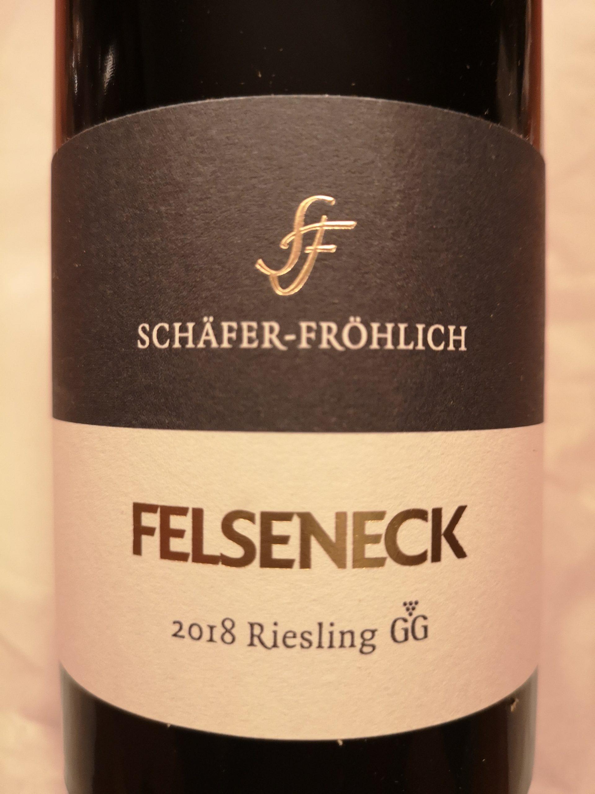 2018 Riesling Felseneck GG | Schäfer-Fröhlich