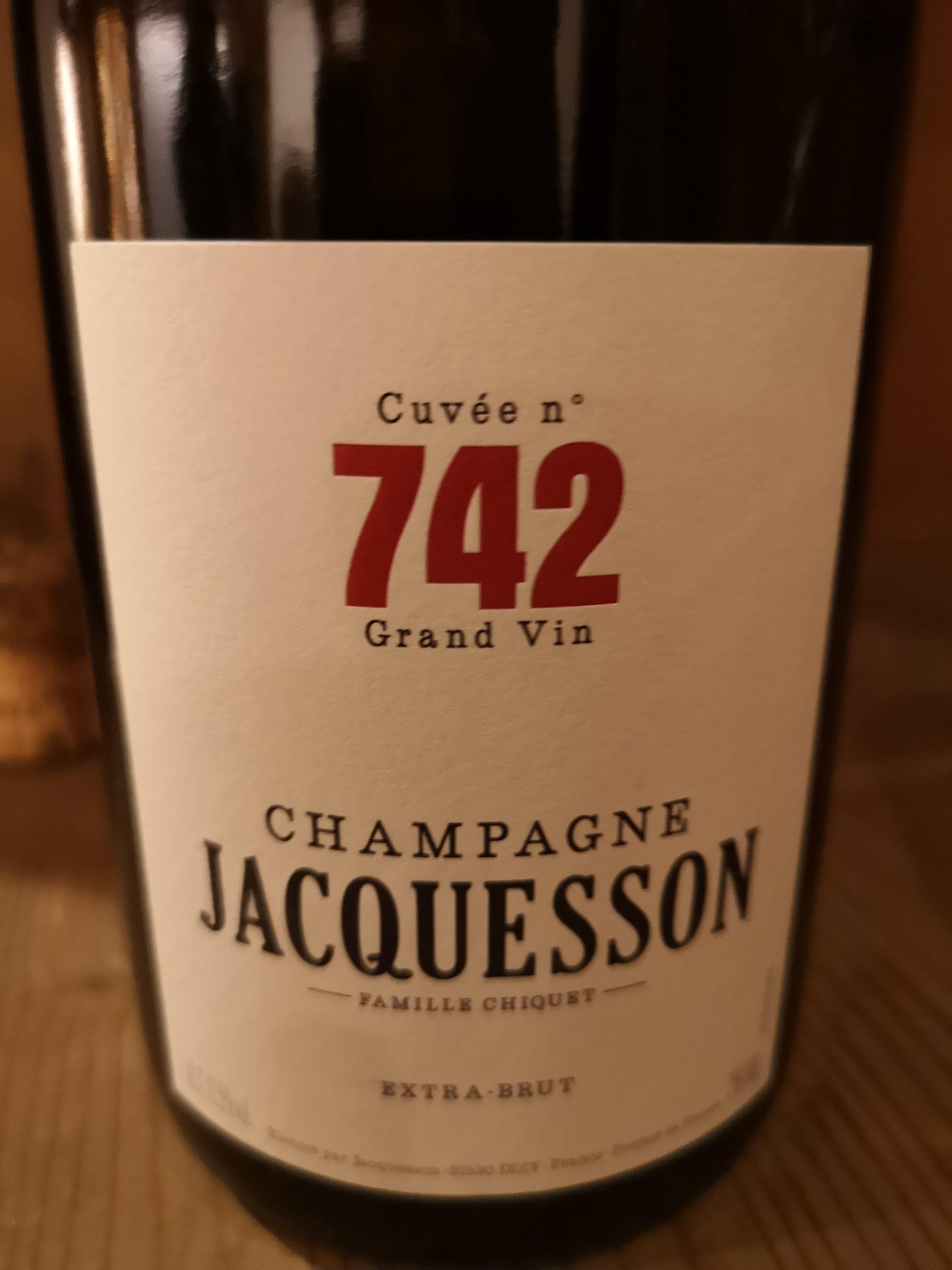 -nv- Champagne Jacquesson Cuvée n° 742 Extra-Brut   Jacquesson