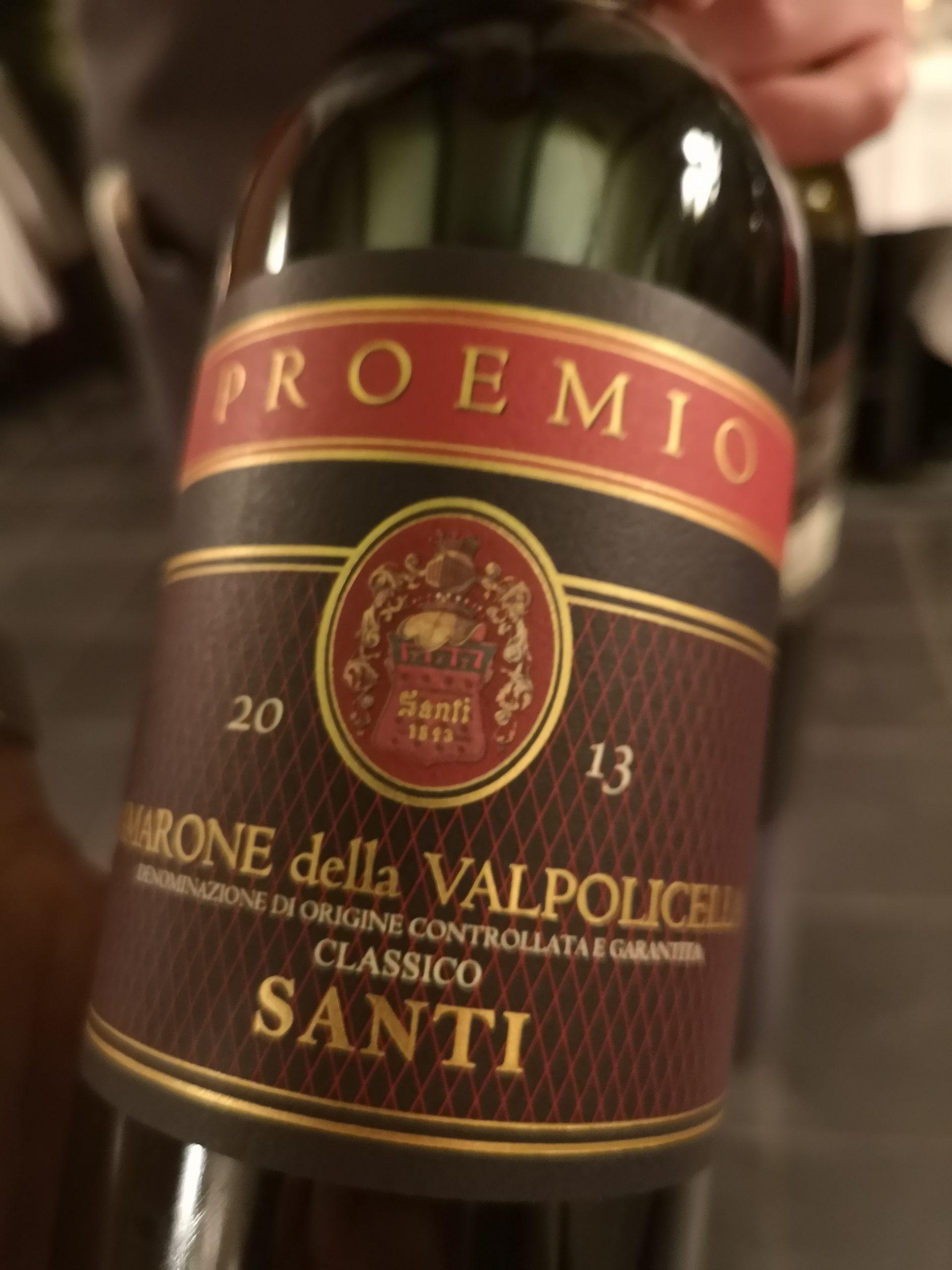 2013 Amarone della Valpolicella Proemio | Santi