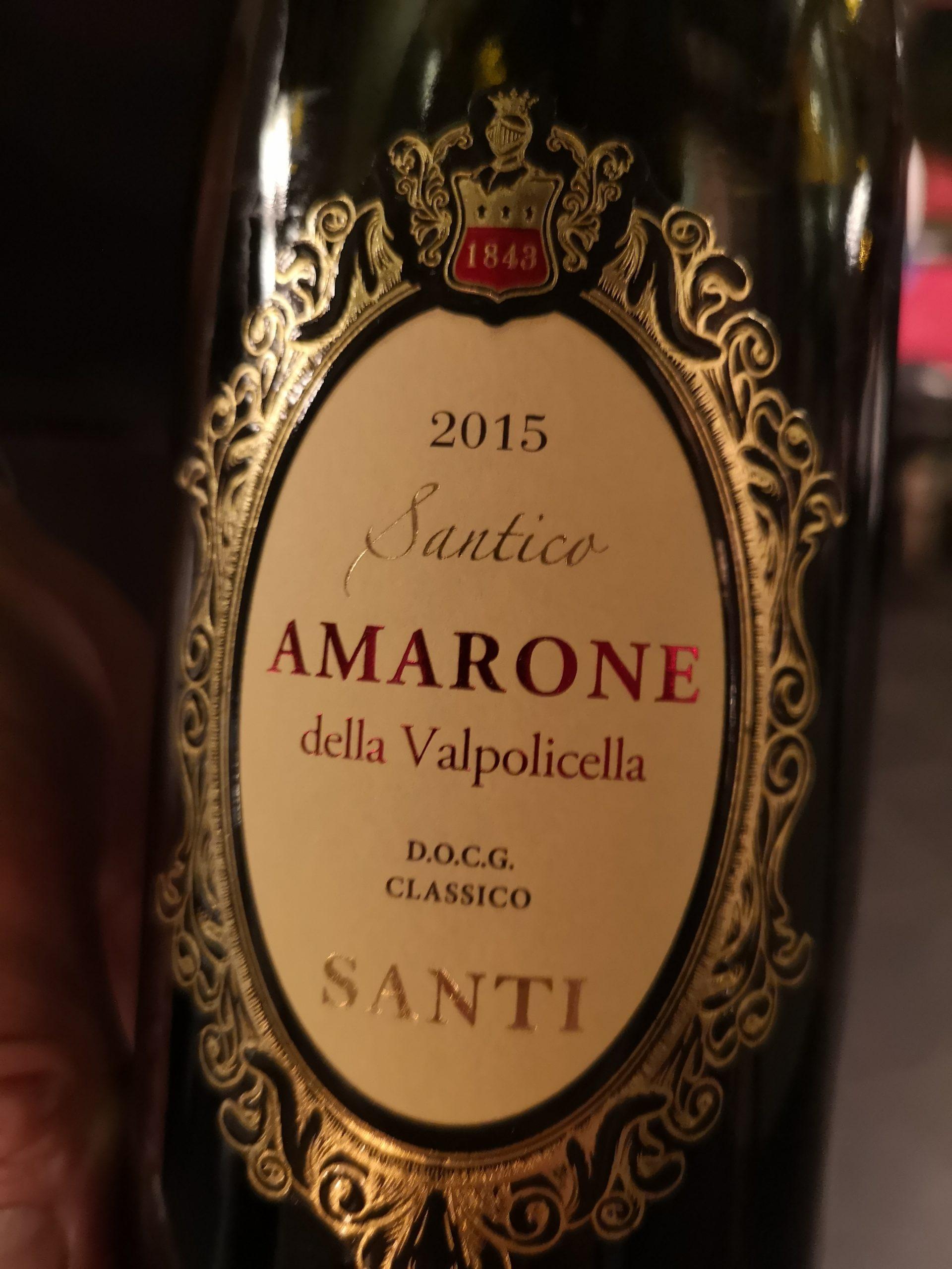 2015 Amarone della Valpolicella Santico | Santi