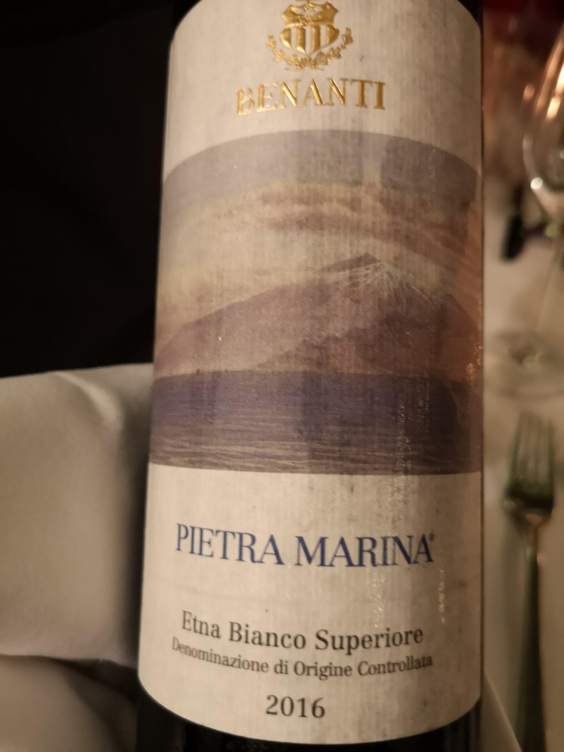 2016 Pietra Marina Etna Bianco| Benanti