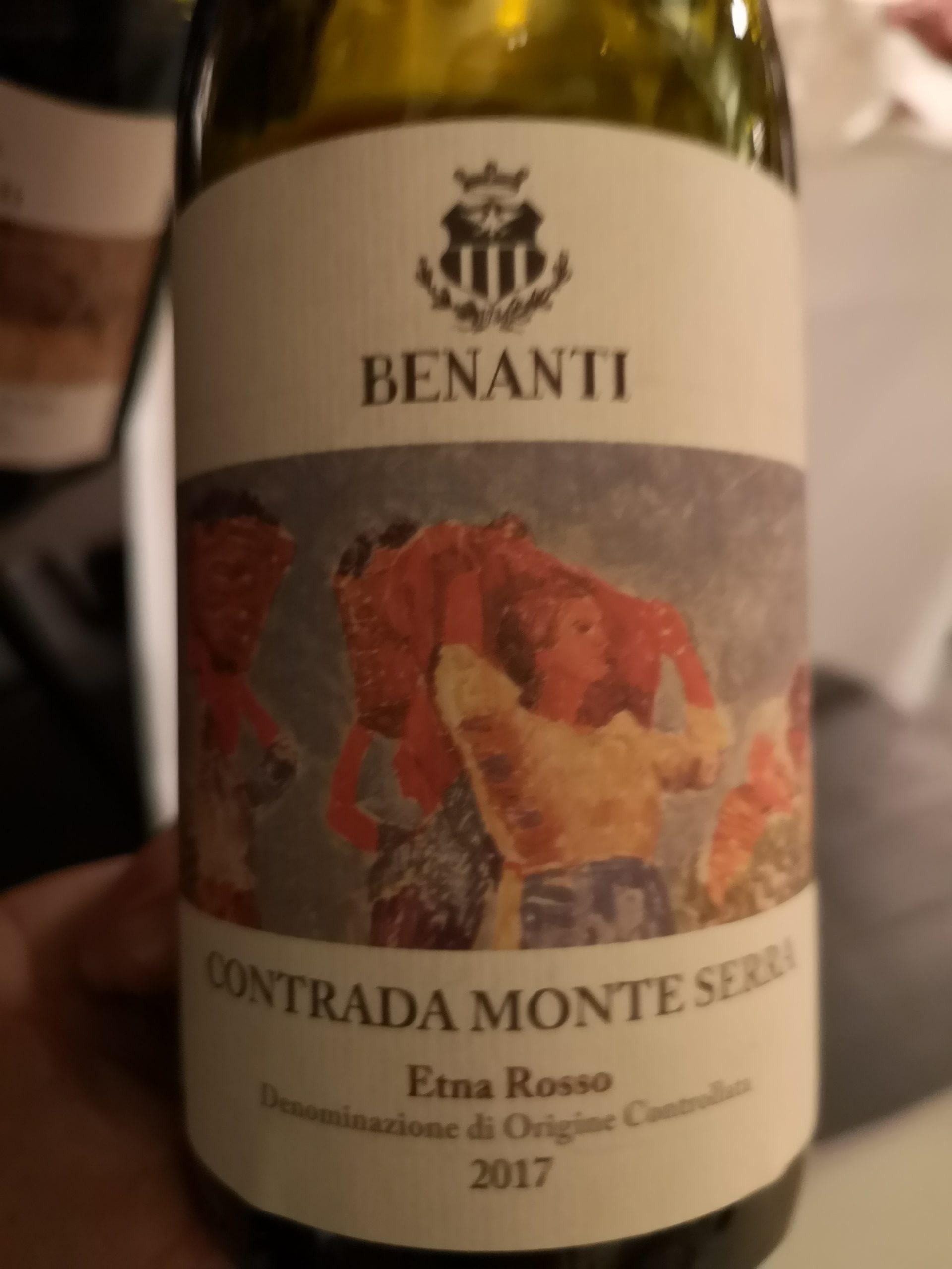 2017 Contrada Monte Serra Etna Rosso | Benanti