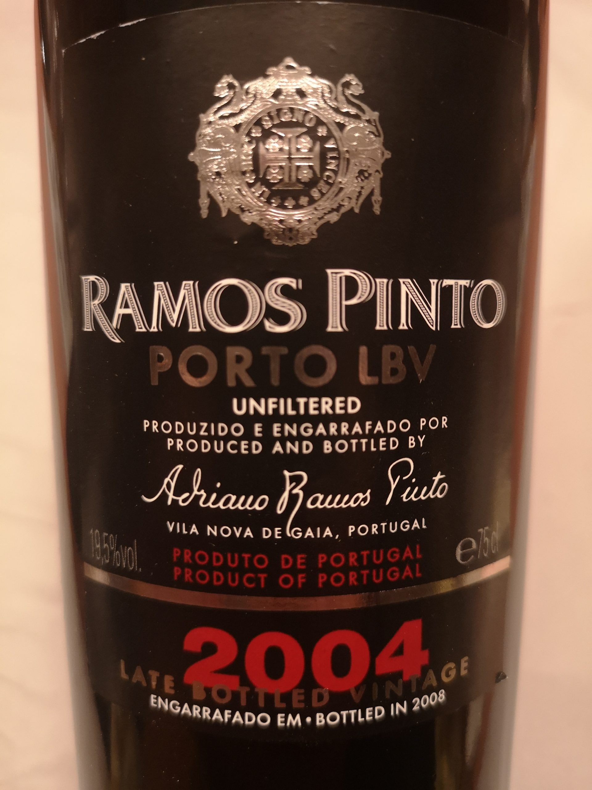 2004 Port Late Bottled Vintage   Ramos Pinto