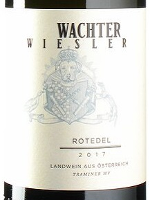 2017 Roter Traminer Rotedel | Wachter-Wiesler