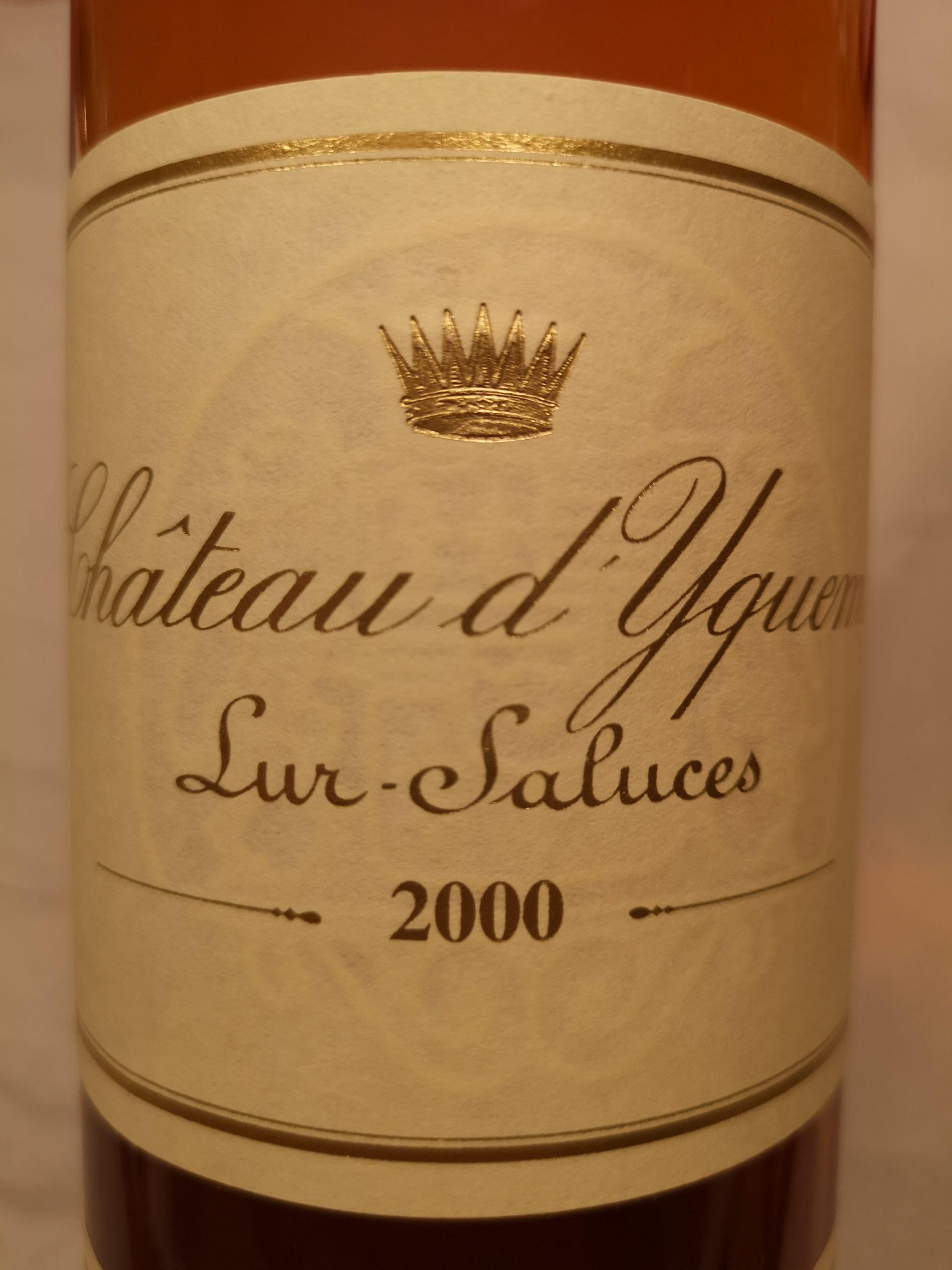 2000 Château d'Yquem | Château d'Yquem