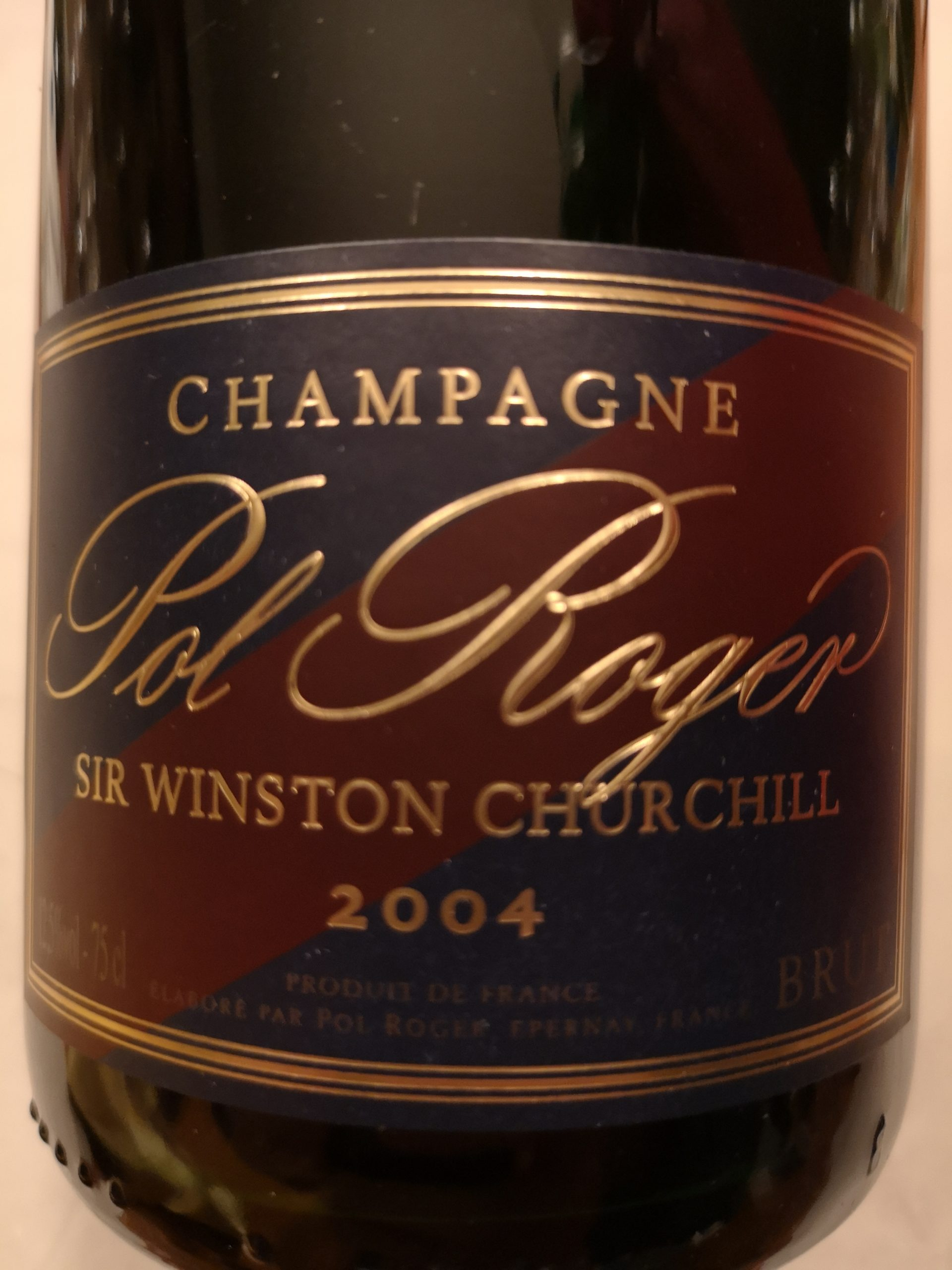 2004 Champagne Cuvée Sir Winston Churchill   Pol Roger