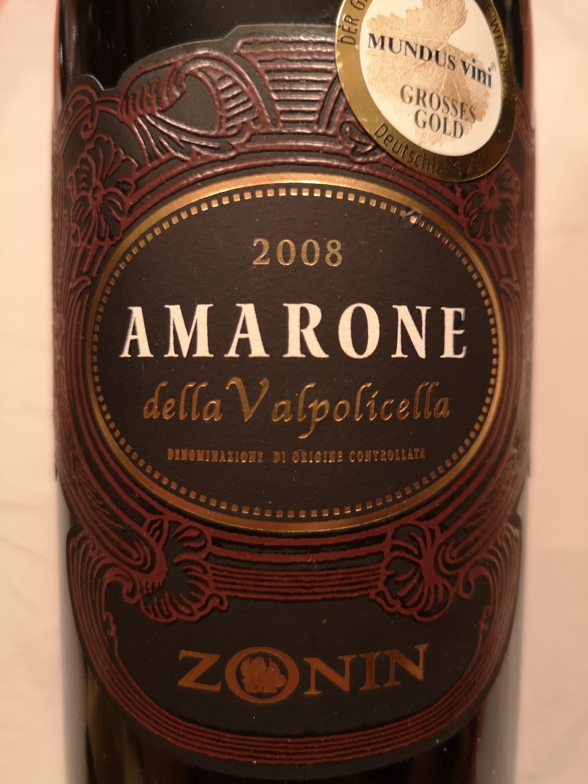2008 Amarone della Valpolicella   Zonin
