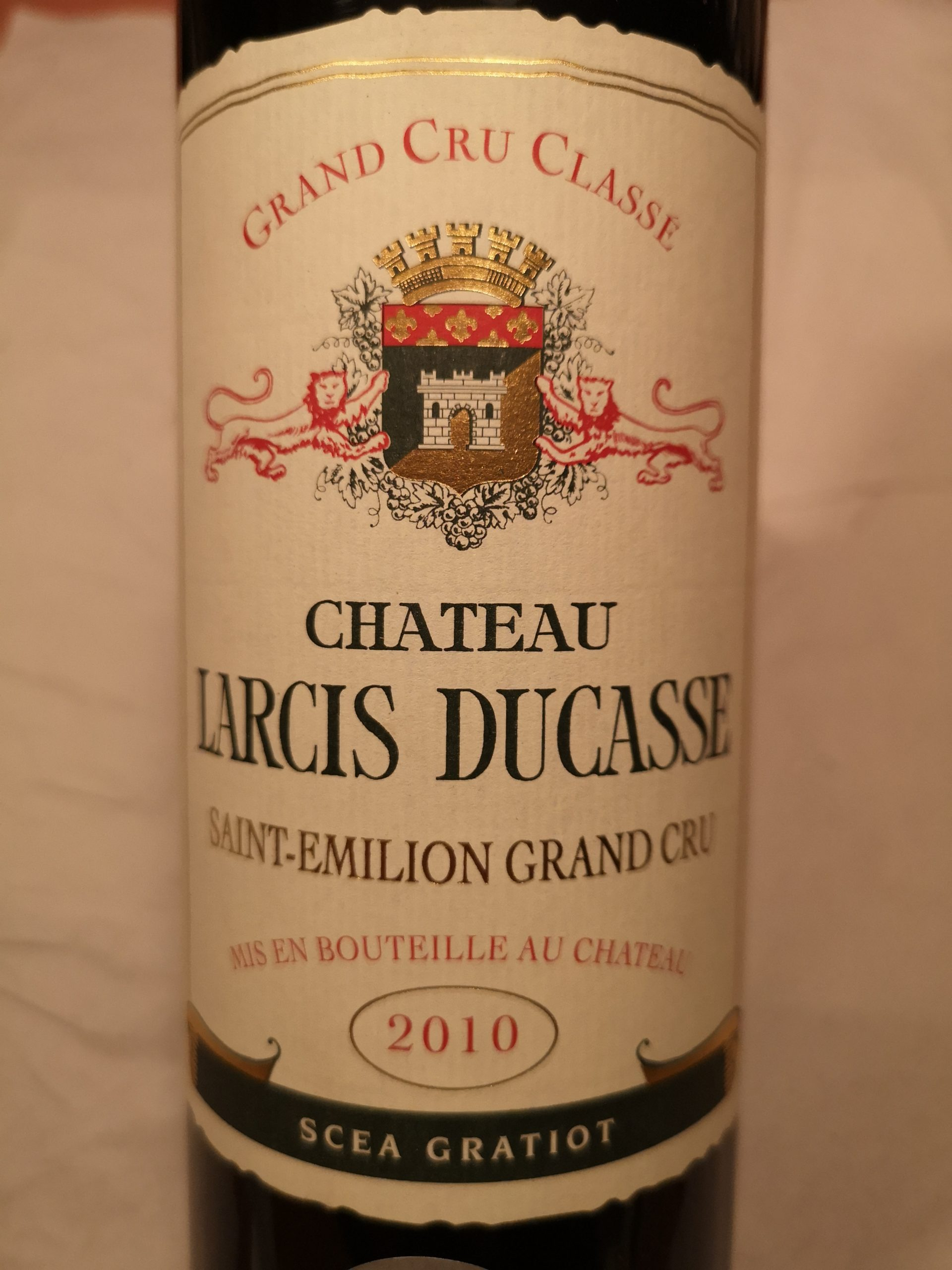 2010 Château Larcis Ducasse | Château Larcis Ducasse