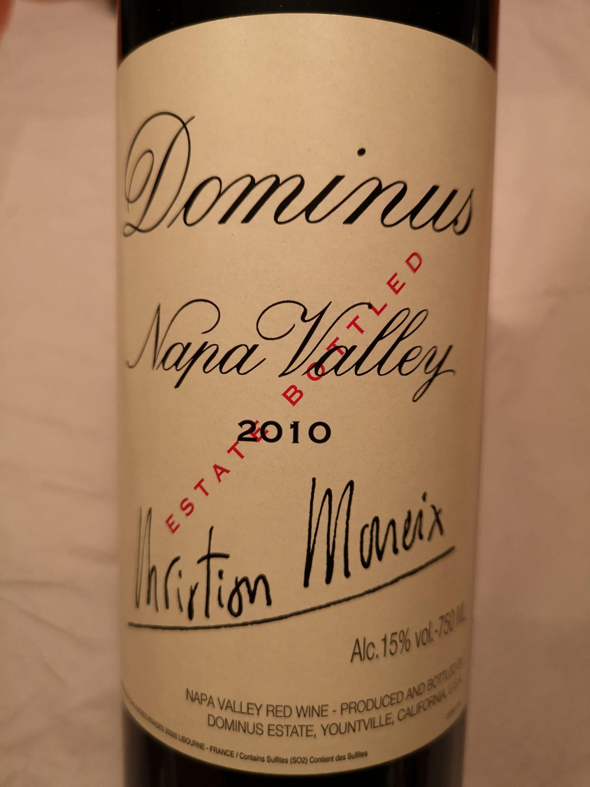 2010 Dominus | Dominus Estate Moueix