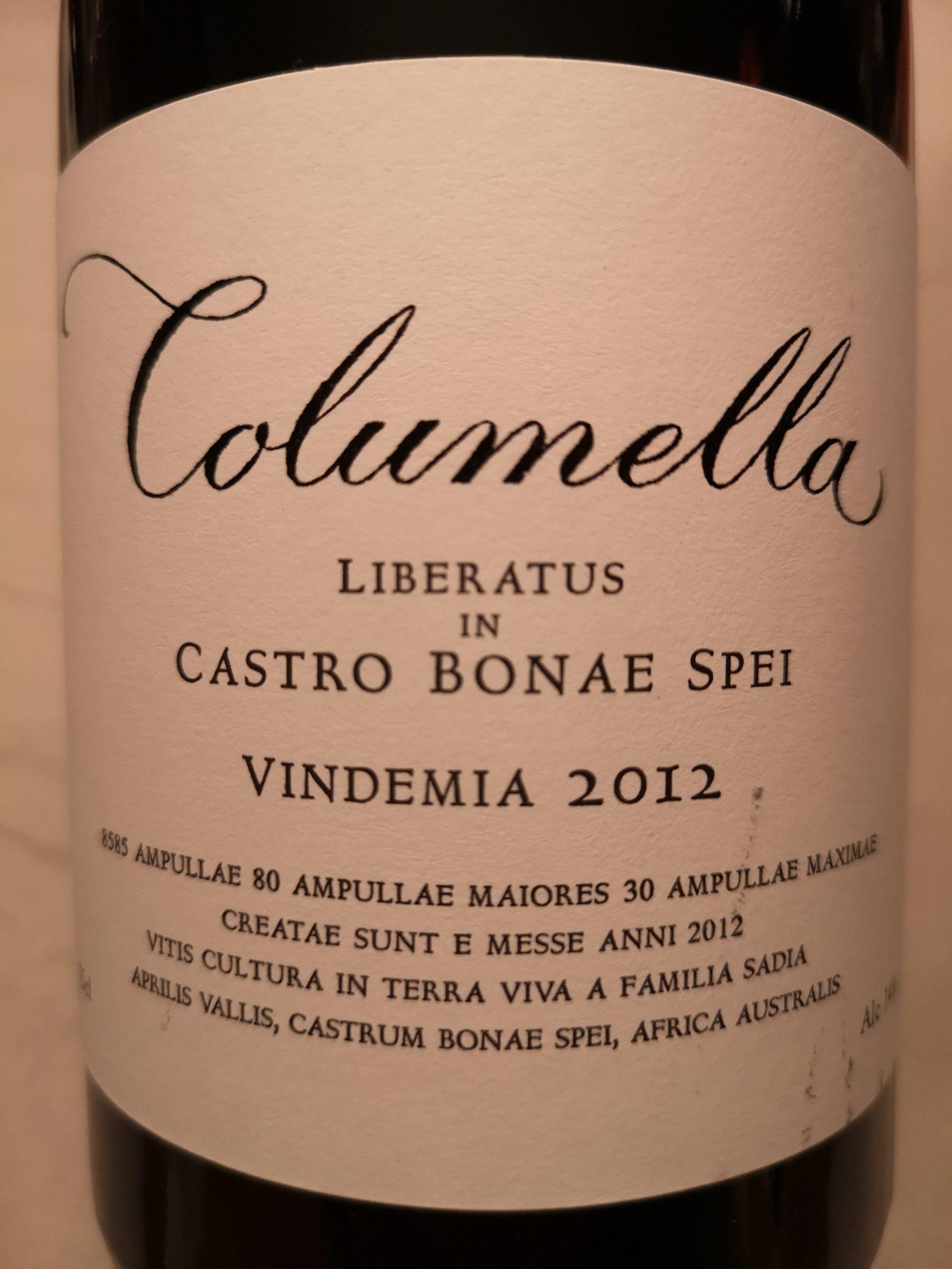 2012 Columella | Sadie