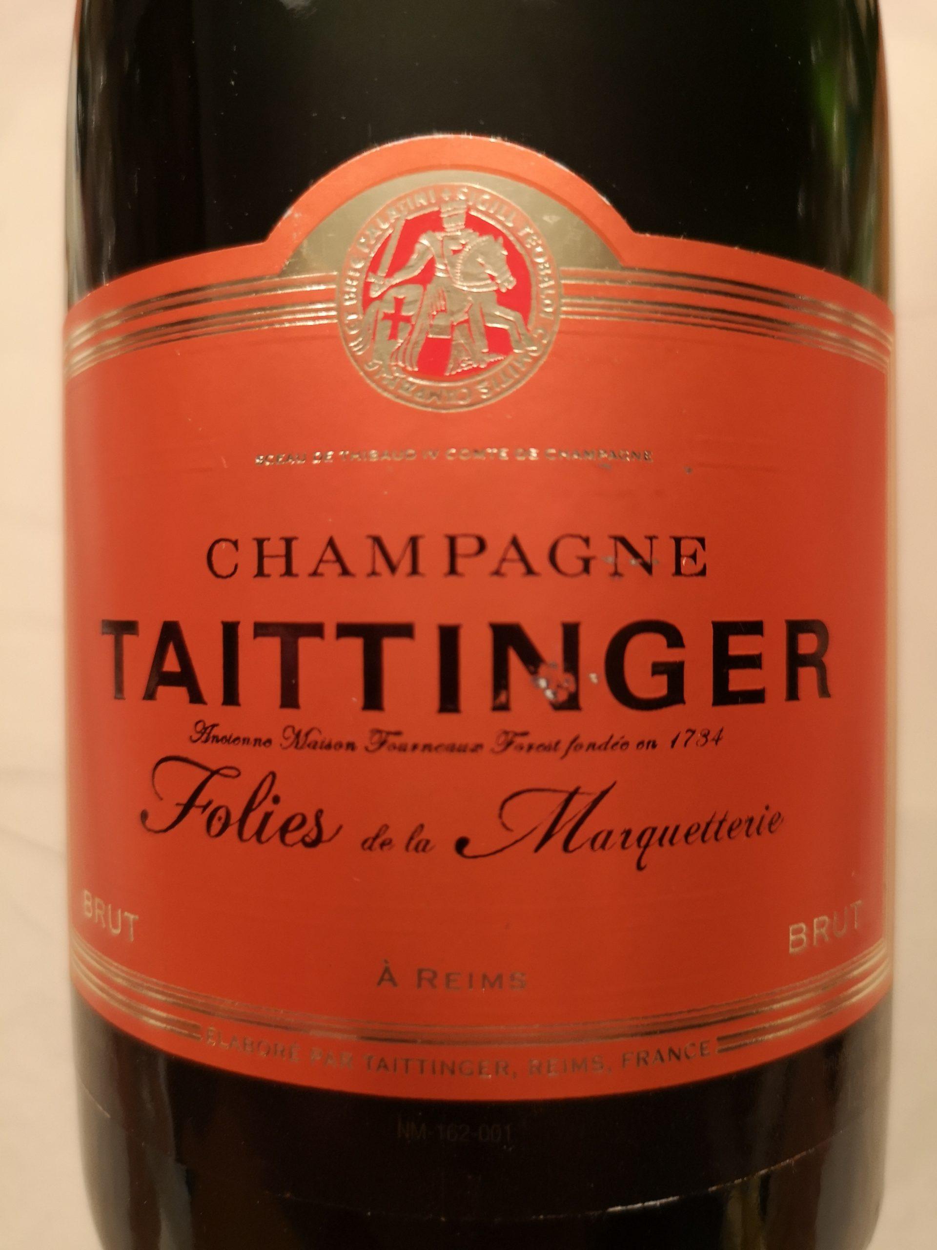 -nv- Champagne Les Folies de la Marquetterie | Taittinger