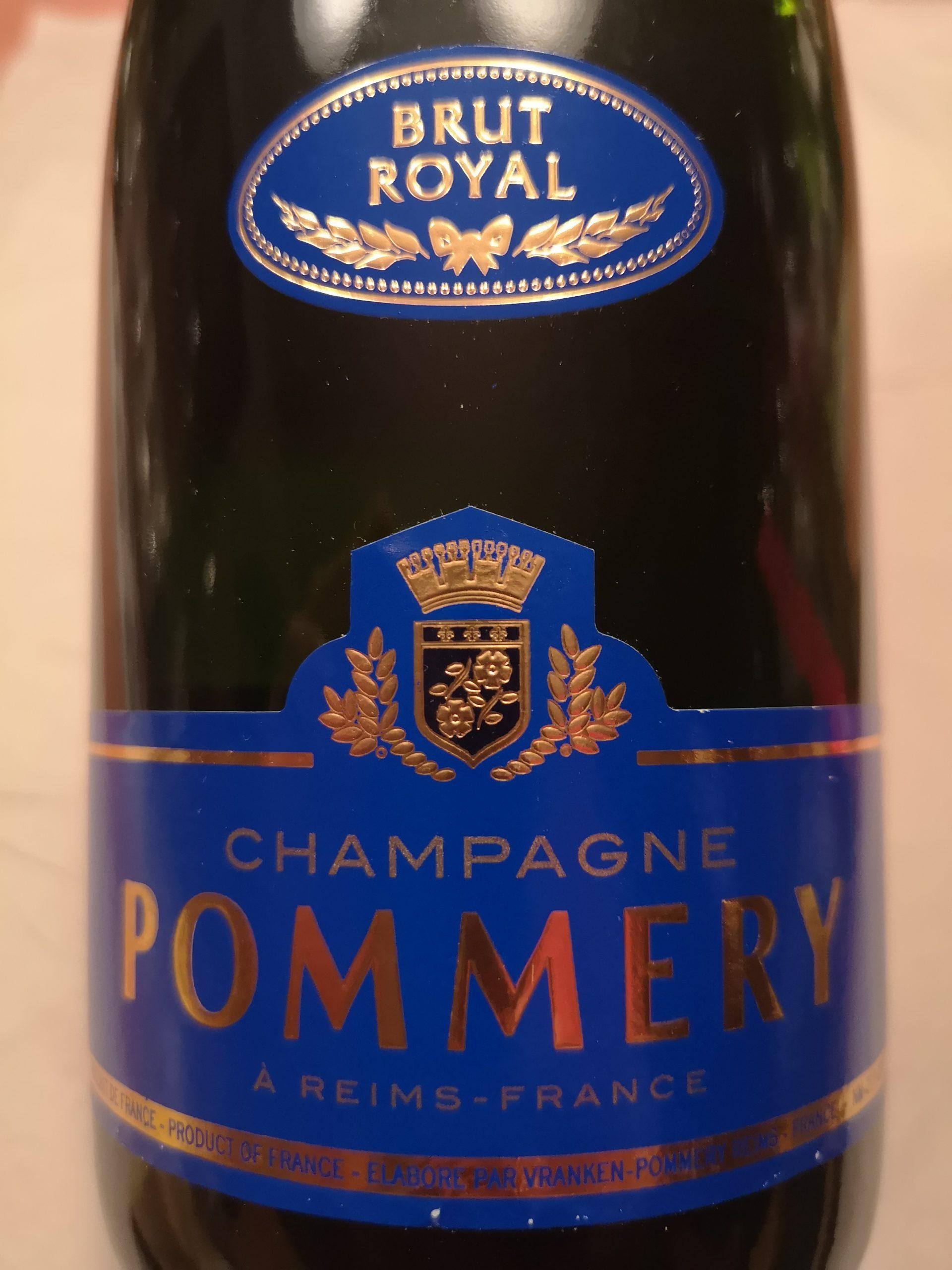 -nv- Champagne Pommery Royal Brut   Pommery